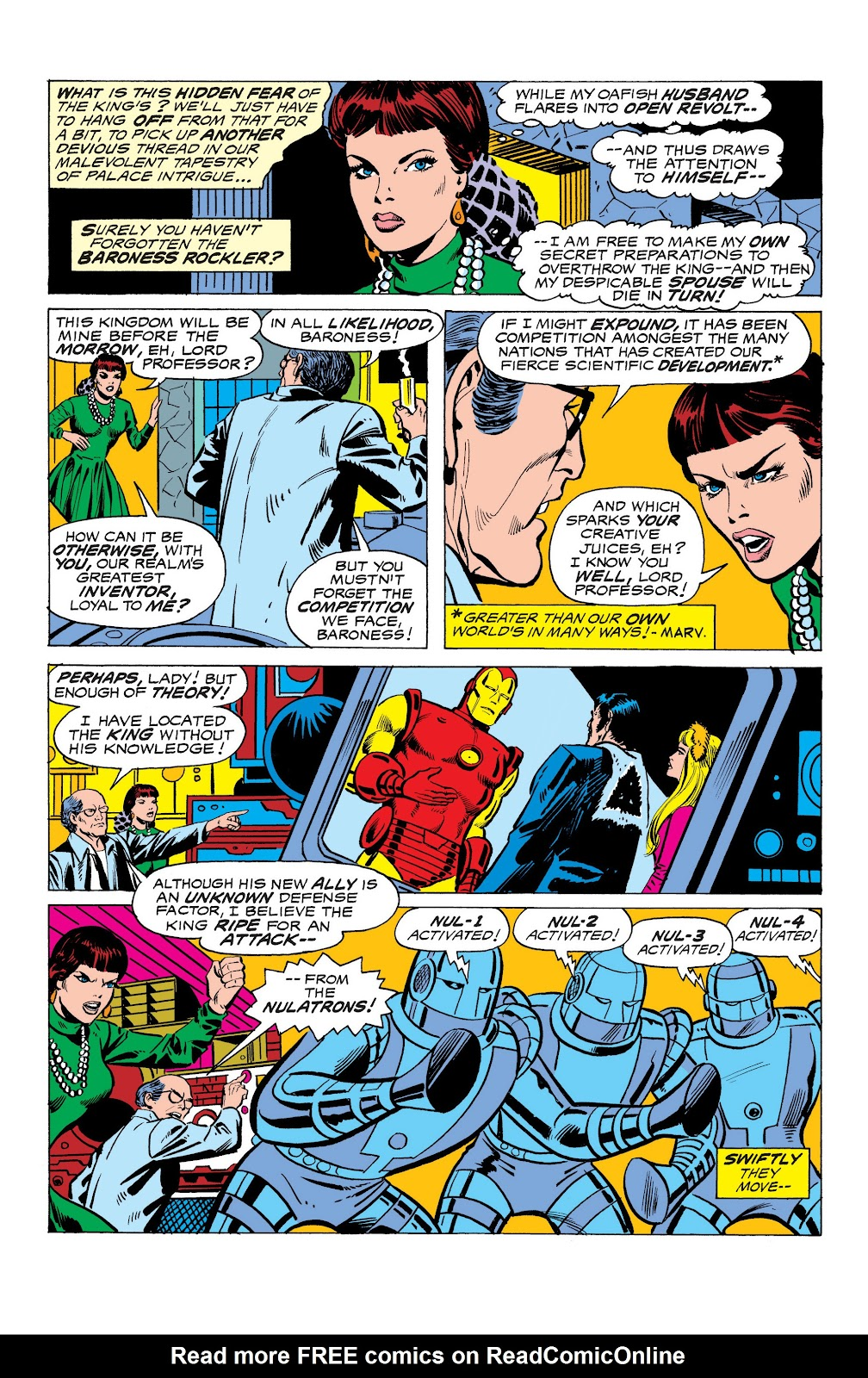 Read online Marvel Masterworks: The Invincible Iron Man comic -  Issue # TPB 10 (Part 3) - 28
