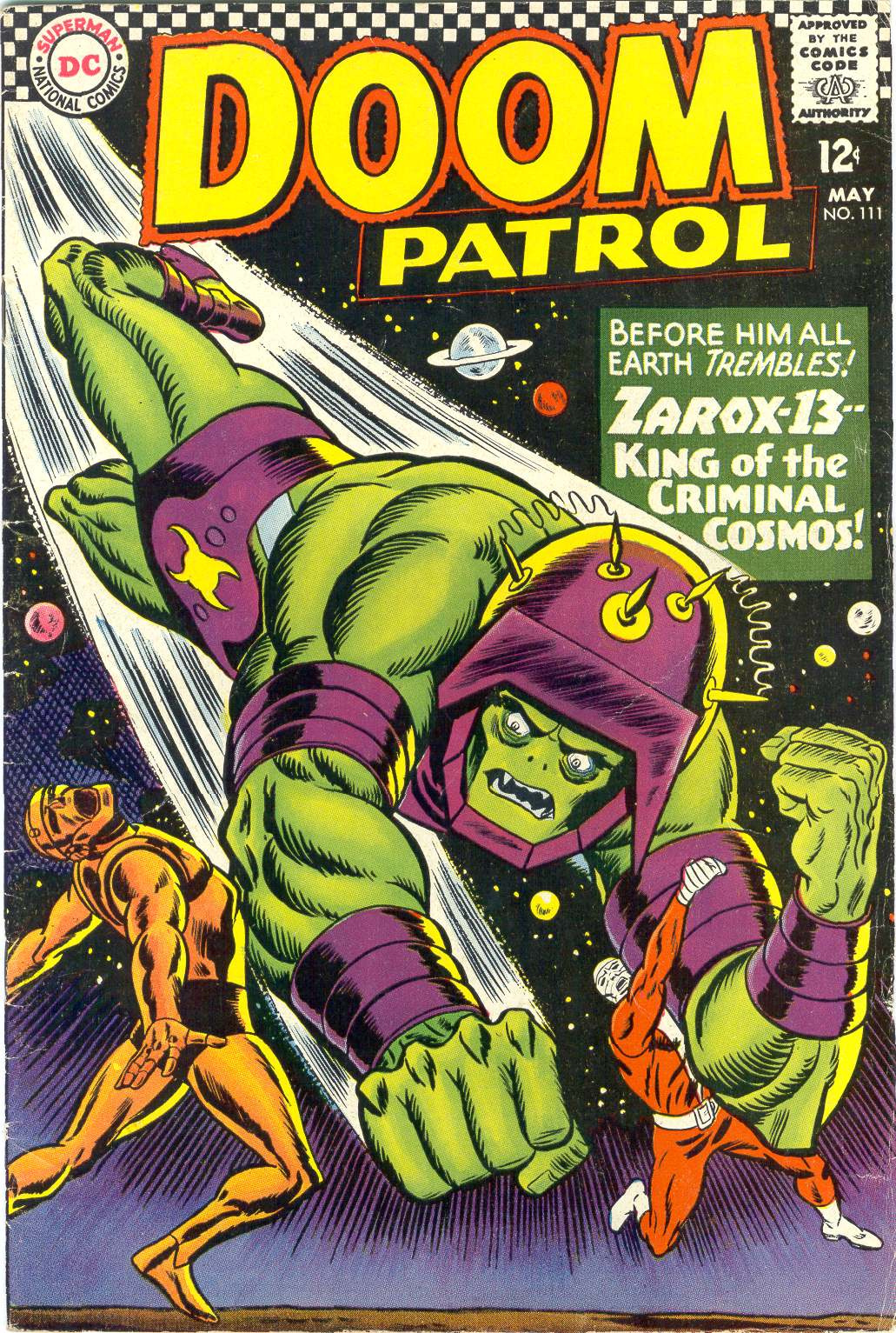 Doom Patrol (1964) 111 Page 1