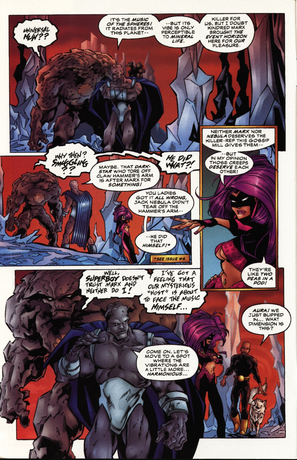 Read online Superboy & The Ravers comic -  Issue #10 - 3