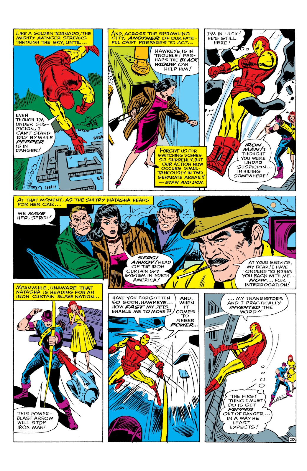 Read online Marvel Masterworks: The Invincible Iron Man comic -  Issue # TPB 2 (Part 2) - 66