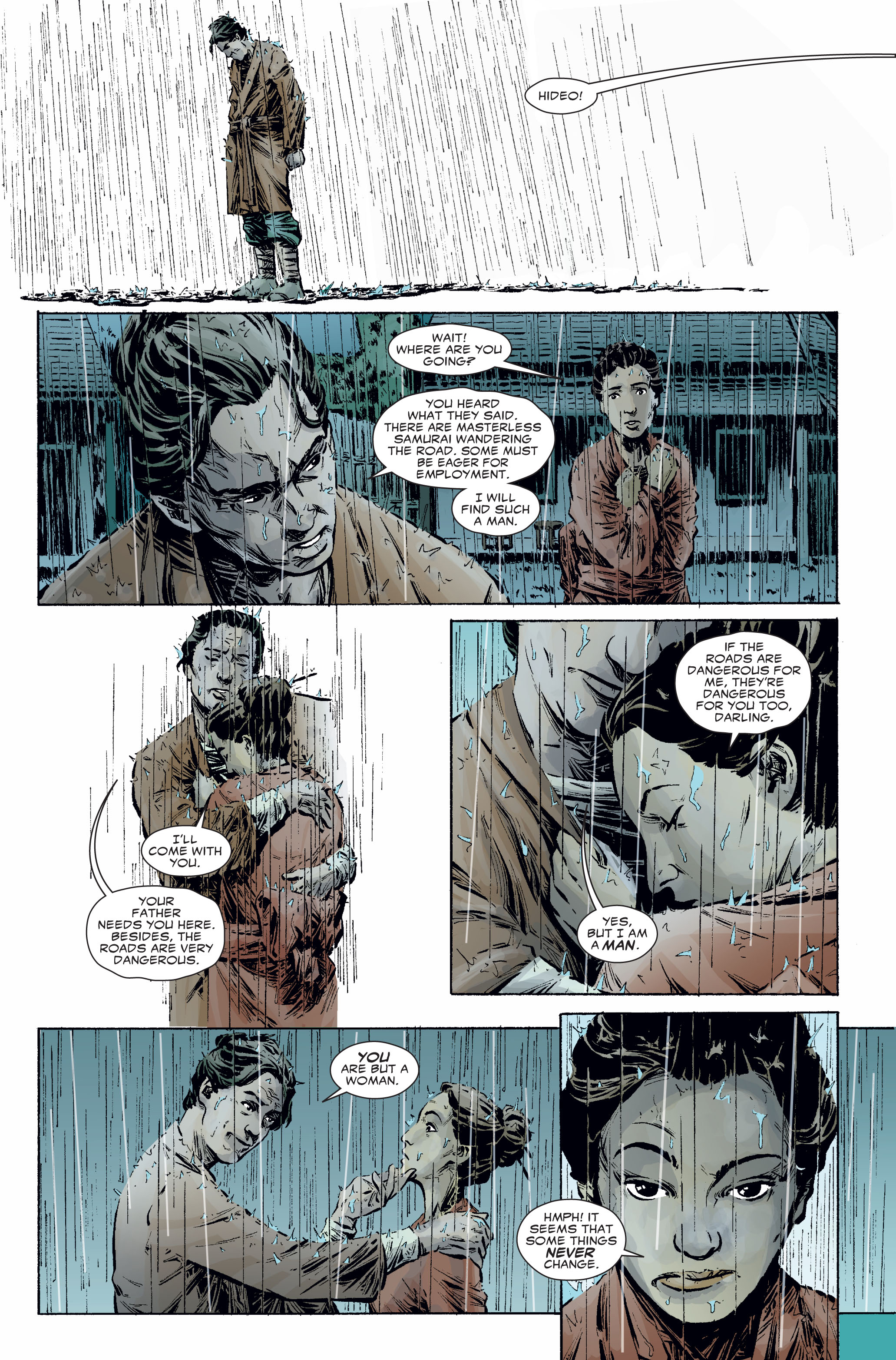 Read online 5 Ronin (2011) comic -  Issue #2 - 6