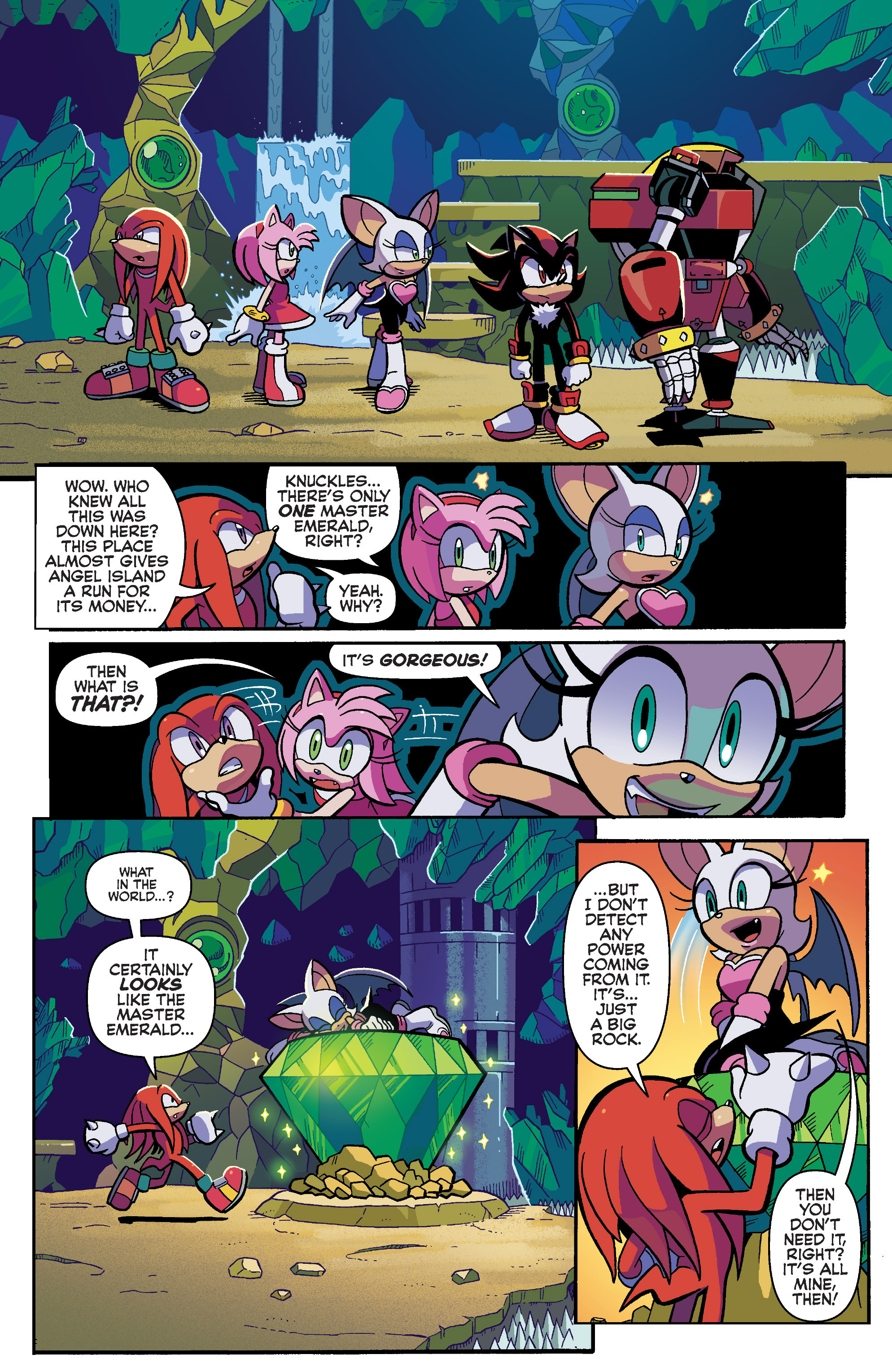 Read online Sonic Universe comic -  Issue #87 - 16