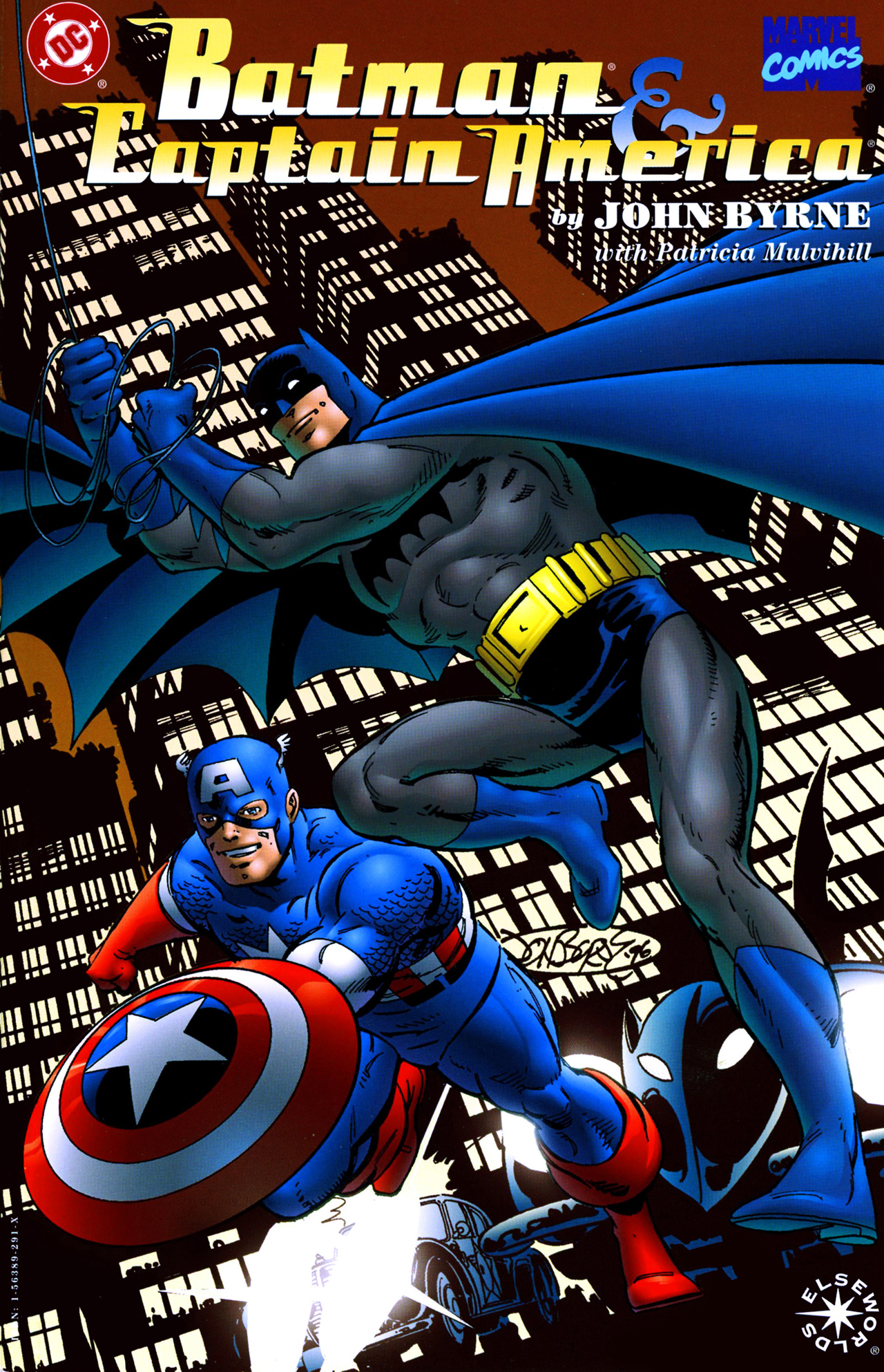Batman/Captain America Full Page 1