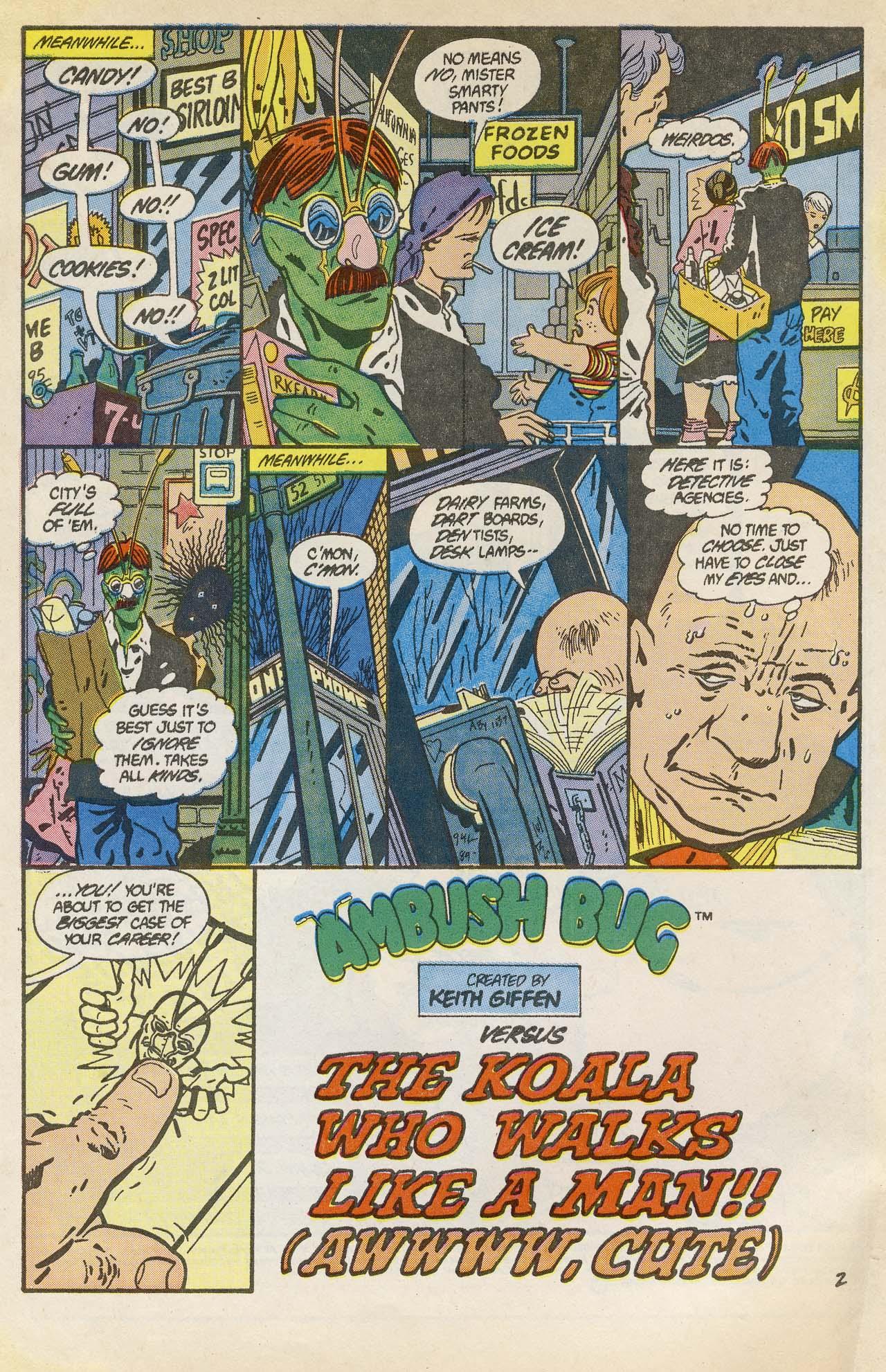 Read online Ambush Bug comic -  Issue #2 - 4