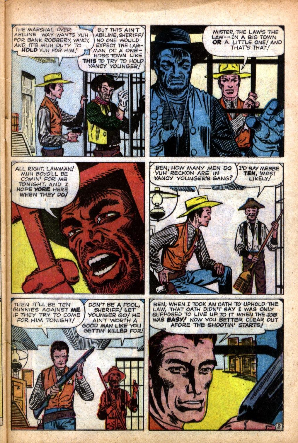 Gunsmoke Western issue 66 - Page 29