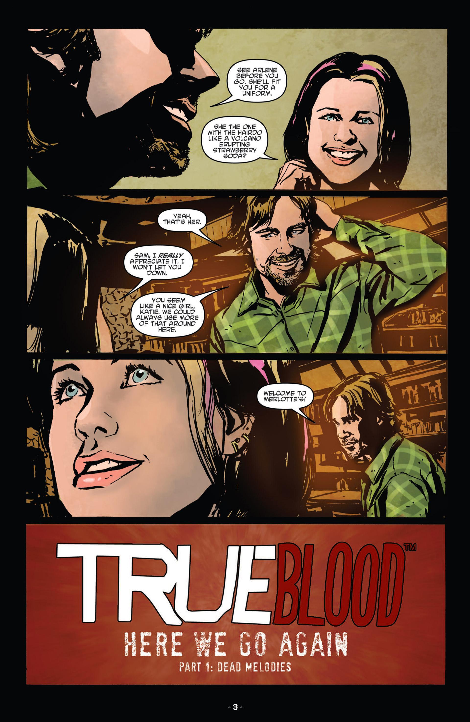 Read online True Blood (2012) comic -  Issue #11 - 6