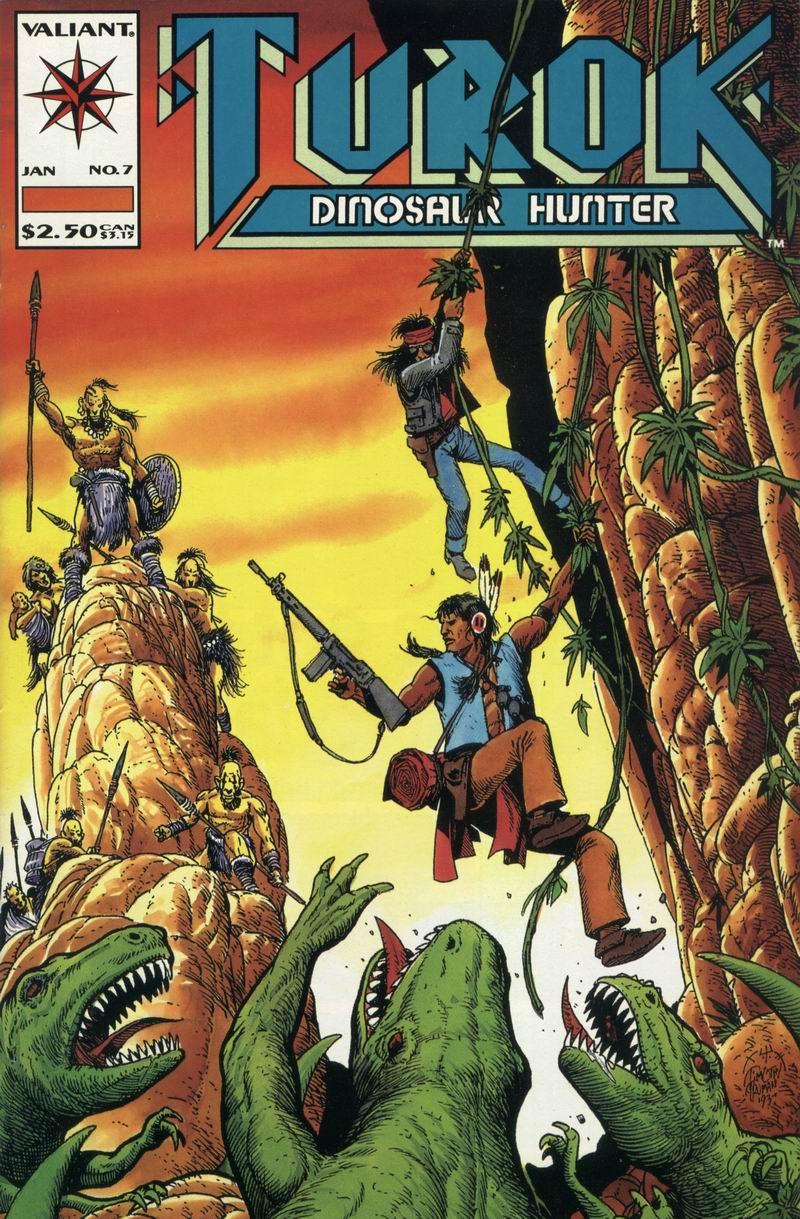 Read online Turok, Dinosaur Hunter (1993) comic -  Issue #7 - 1