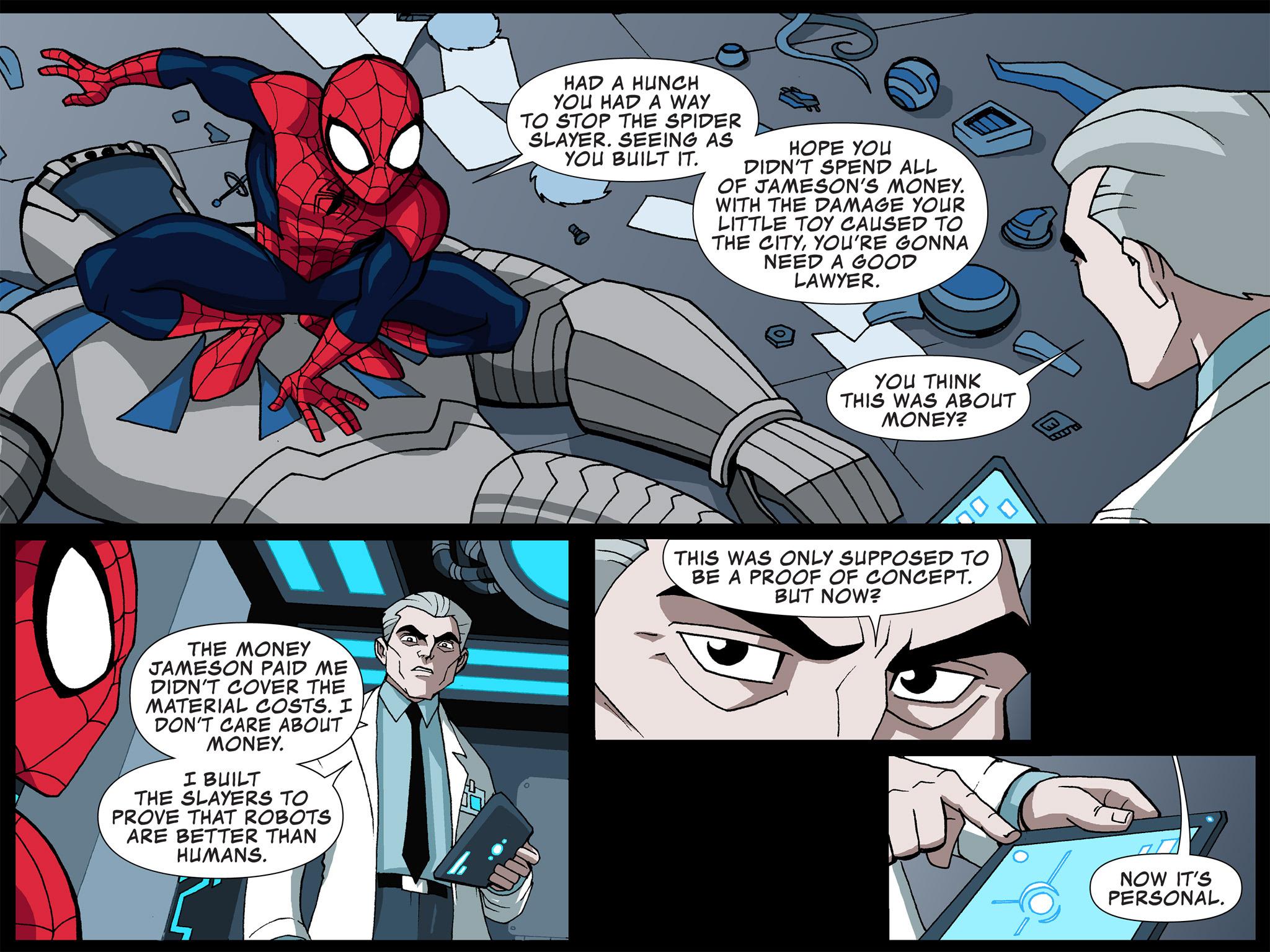 Read online Ultimate Spider-Man (Infinite Comics) (2015) comic -  Issue #4 - 36