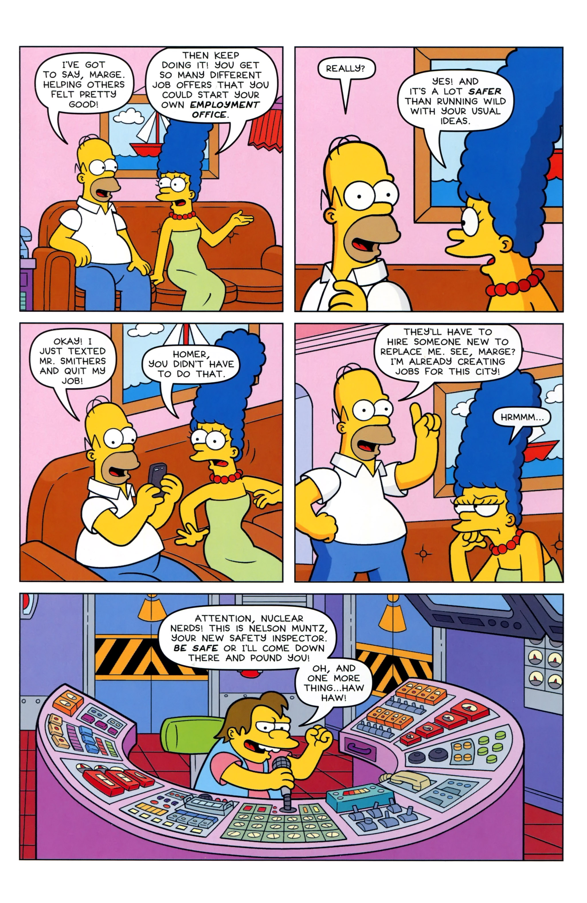 Read online Simpsons Comics comic -  Issue #223 - 10