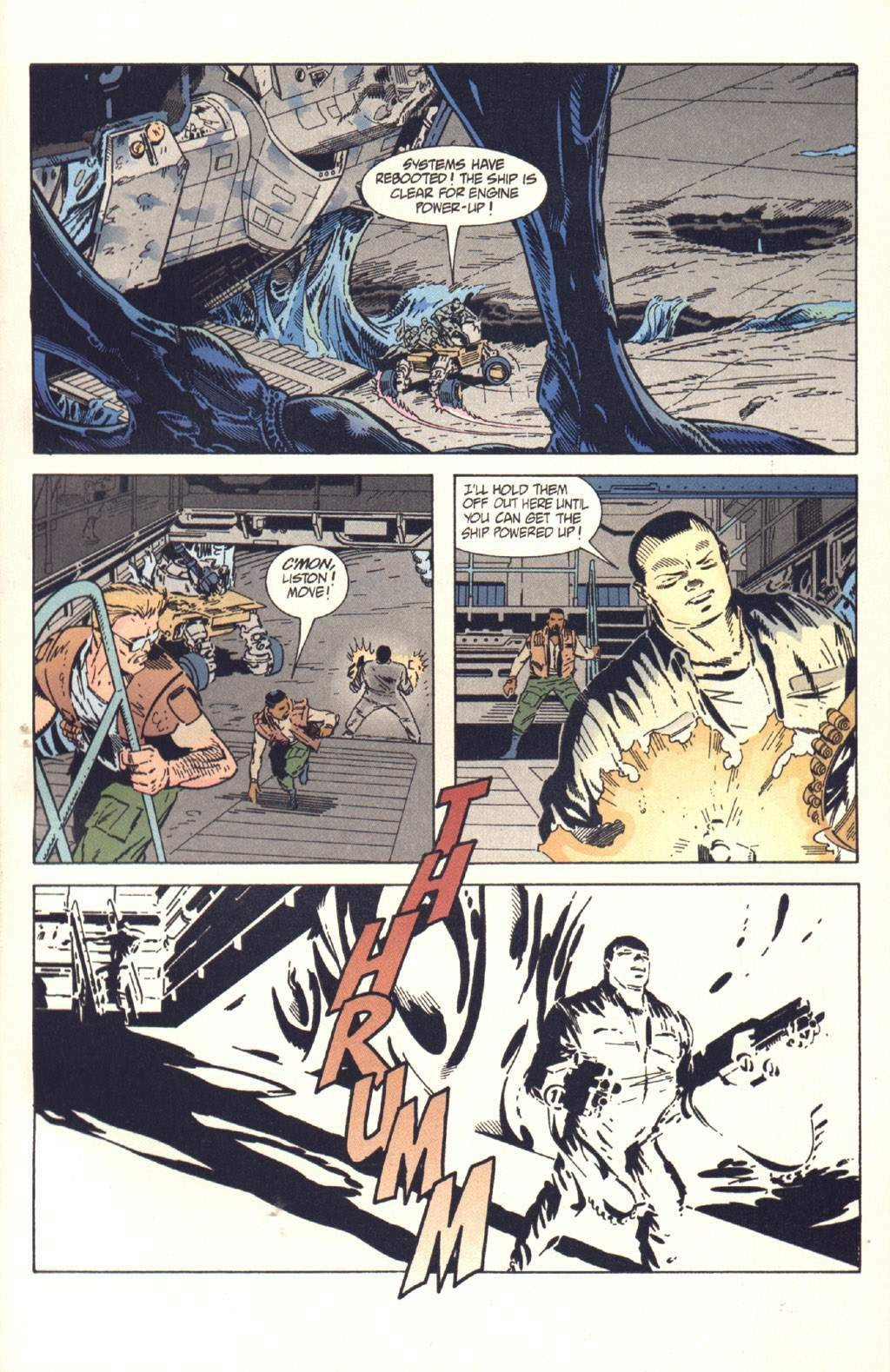 Read online Aliens: Colonial Marines comic -  Issue #10 - 23