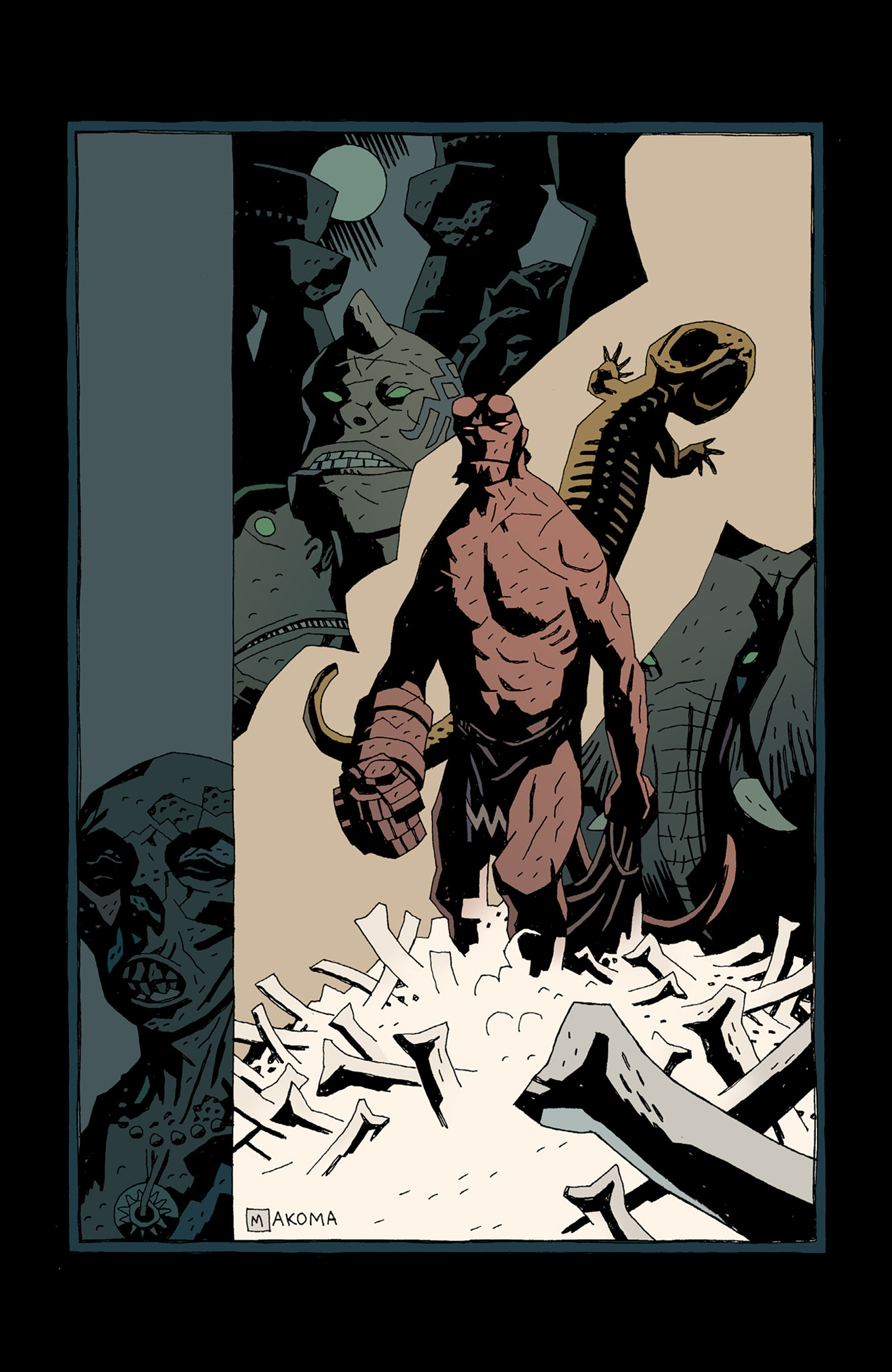 Read online Hellboy: The Troll Witch and Others comic -  Issue # TPB - 132