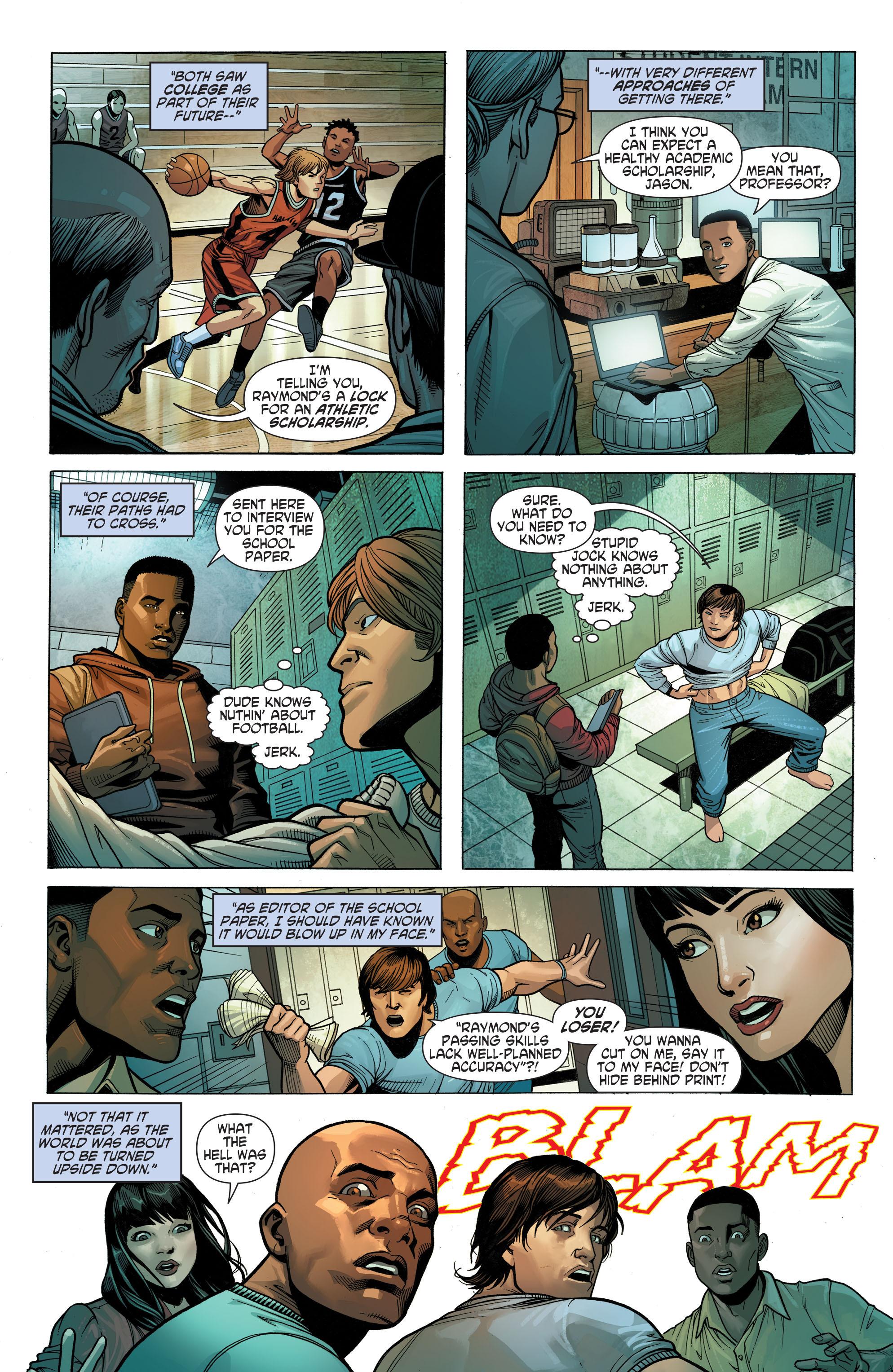Read online Secret Origins (2014) comic -  Issue #10 - 16