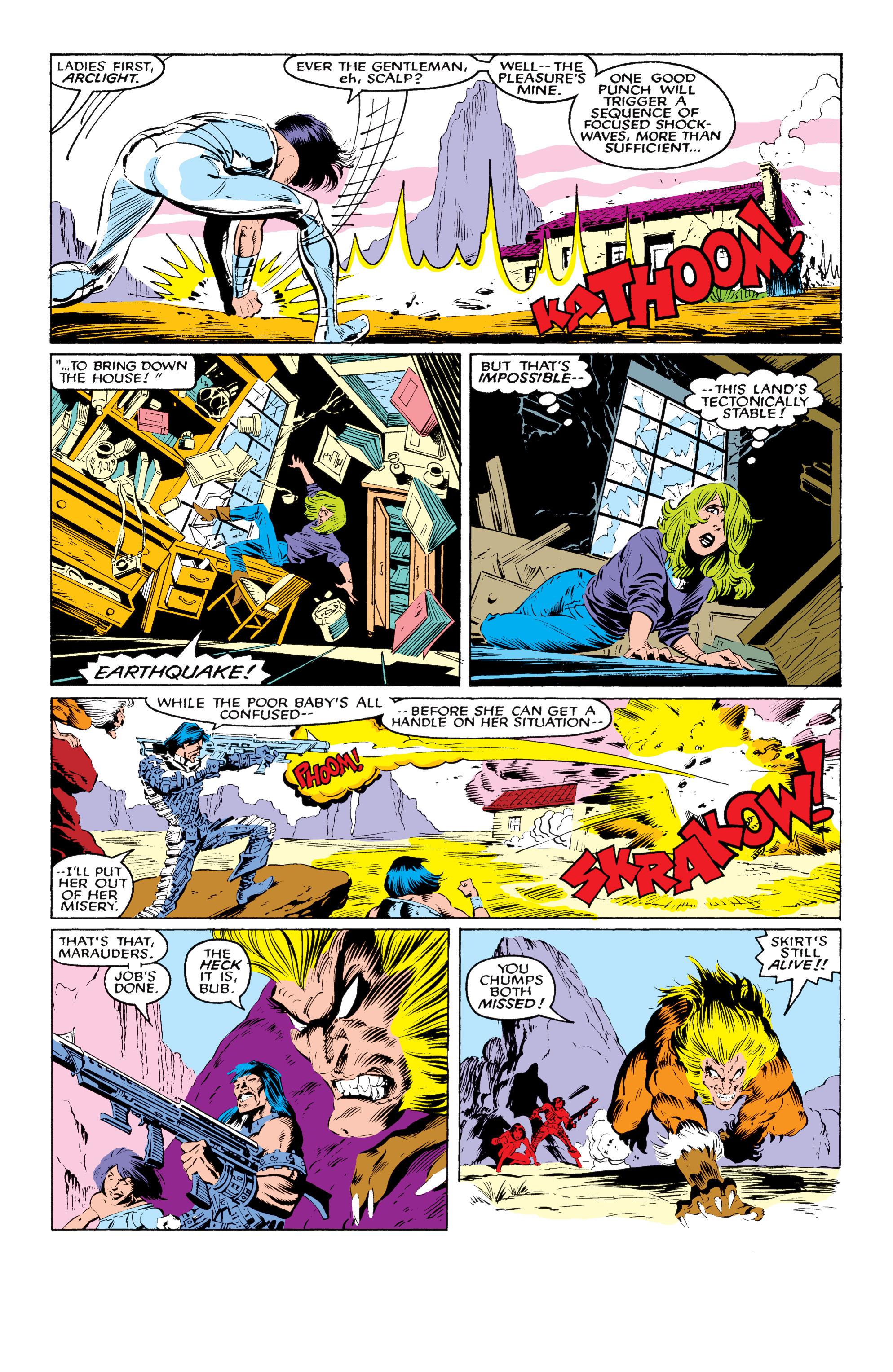 Read online Uncanny X-Men (1963) comic -  Issue #219 - 10
