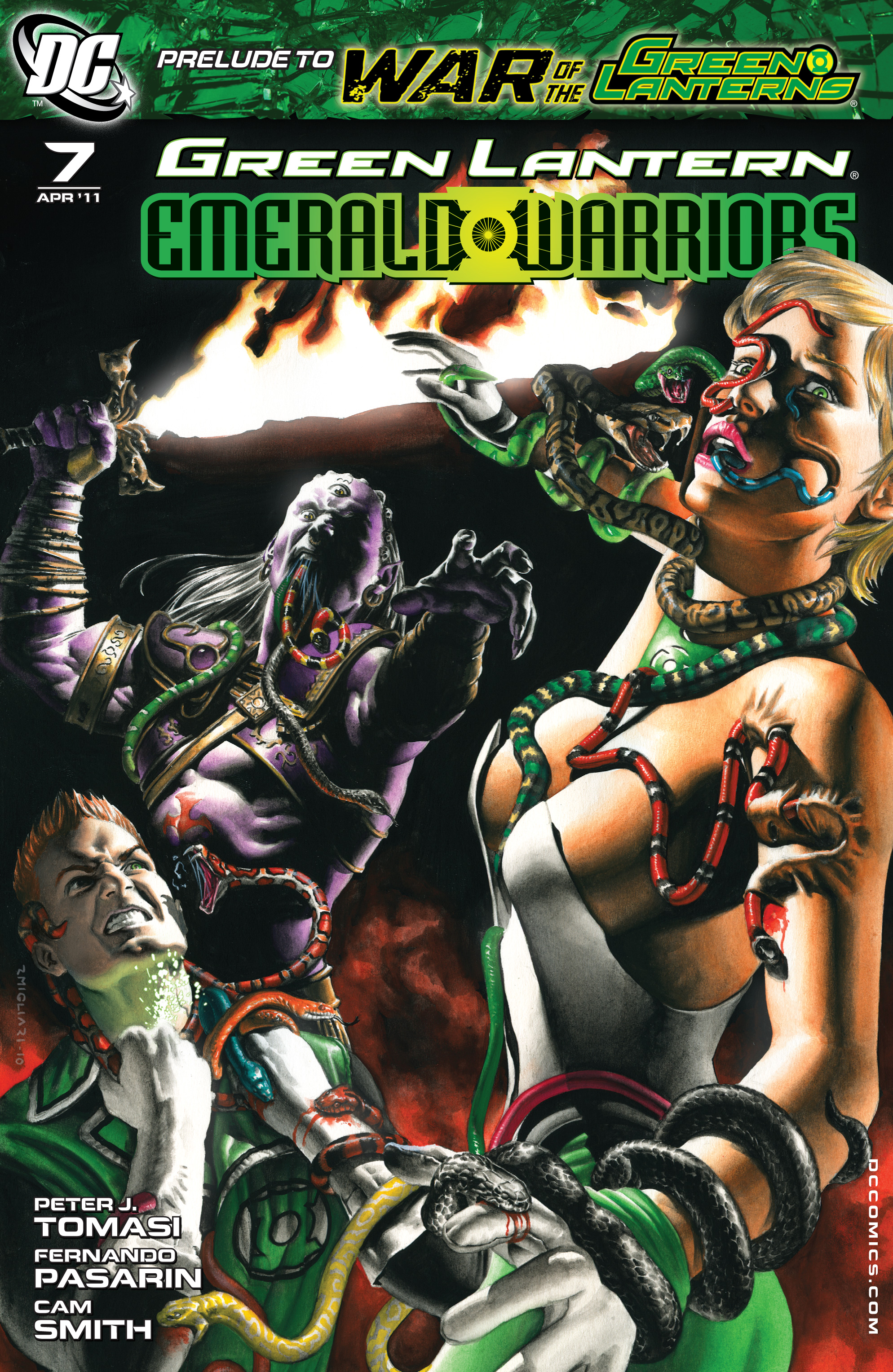 Green Lantern: Emerald Warriors 7 Page 1