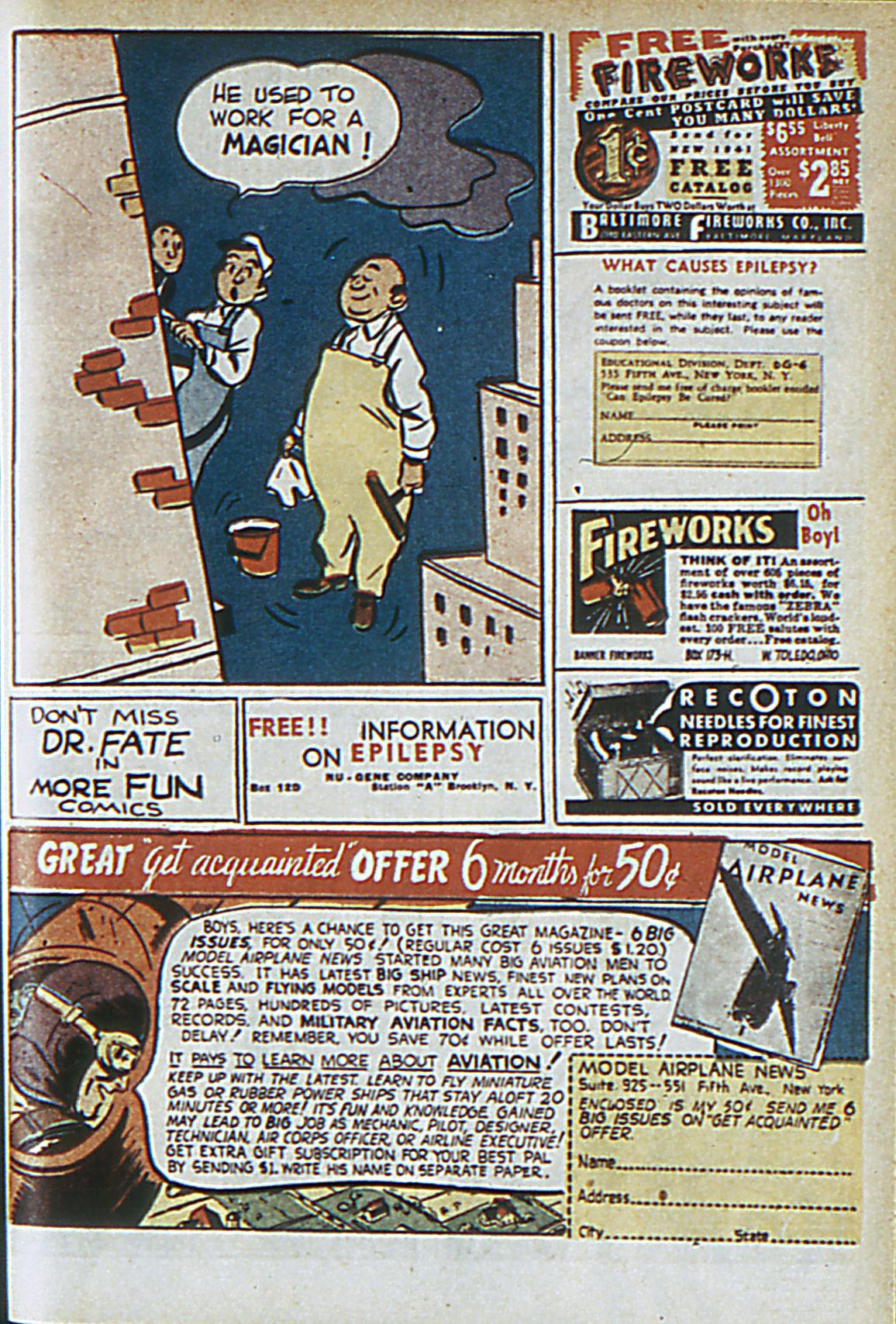 Read online Adventure Comics (1938) comic -  Issue #63 - 48
