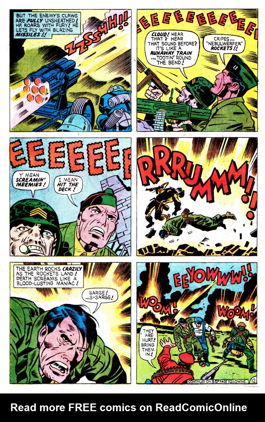 Our Fighting Forces (1954) issue 162 - Page 21