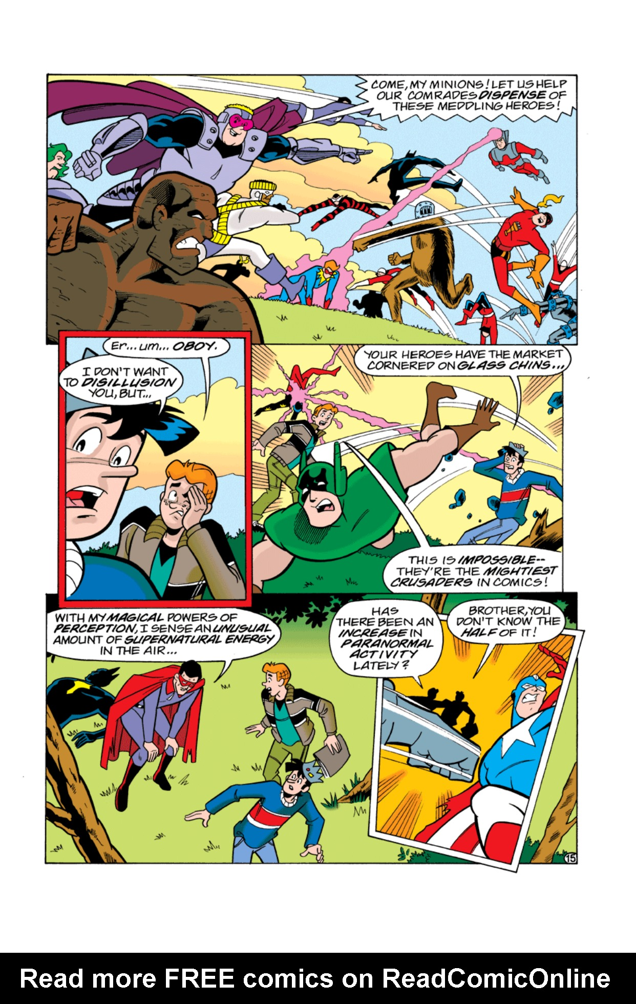 Read online Archie's Weird Mysteries comic -  Issue #3 - 16