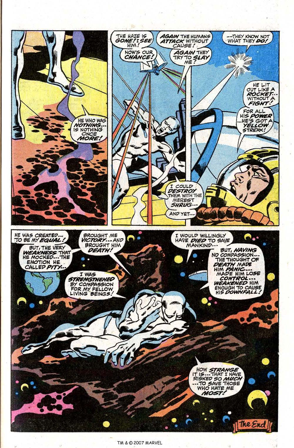 Read online Silver Surfer (1968) comic -  Issue #7 - 49