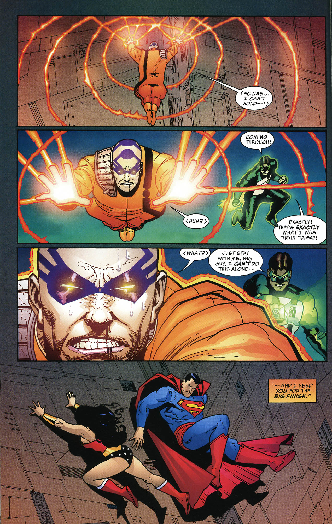 Read online JLA/Haven: Arrival comic -  Issue # Full - 45
