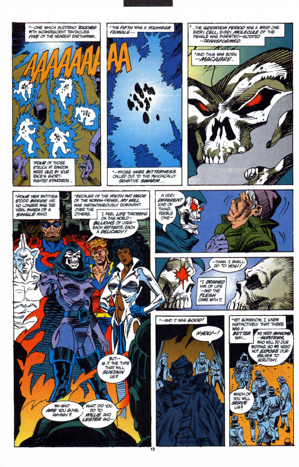 Read online Secret Defenders comic -  Issue #3 - 10