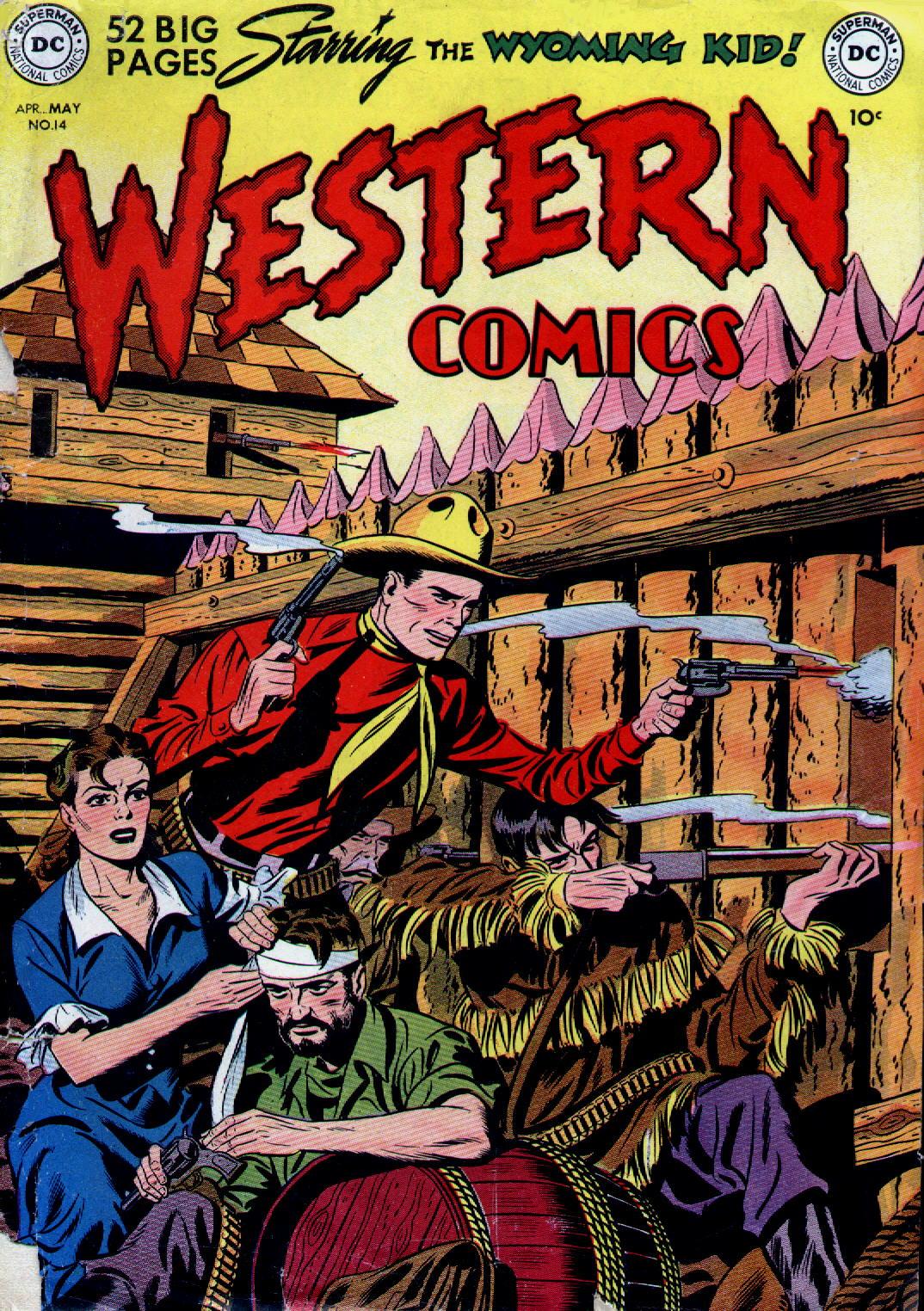 Western Comics 14 Page 1