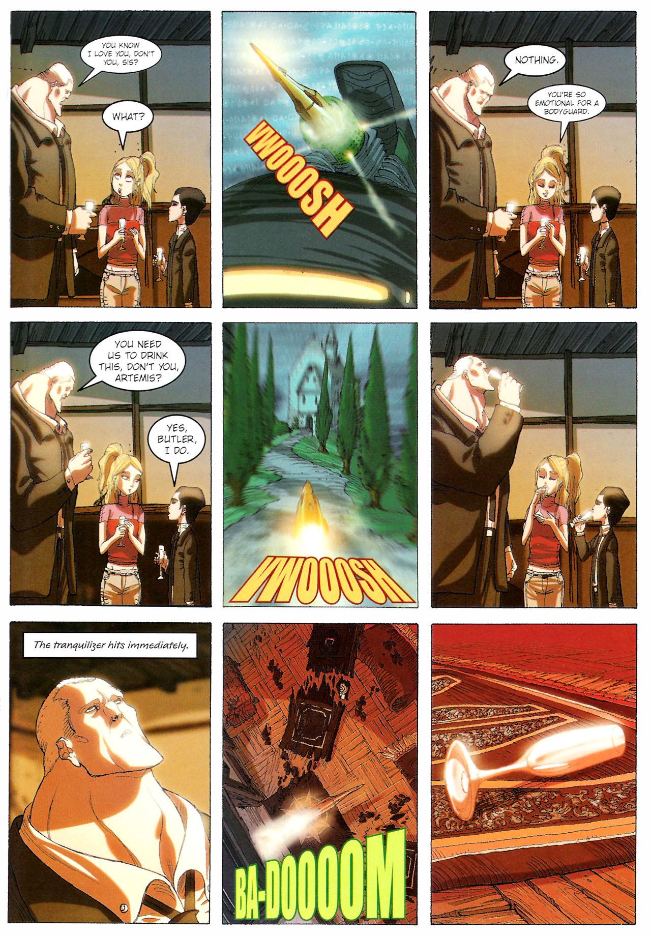 Read online Artemis Fowl: The Graphic Novel comic -  Issue #Artemis Fowl: The Graphic Novel Full - 106