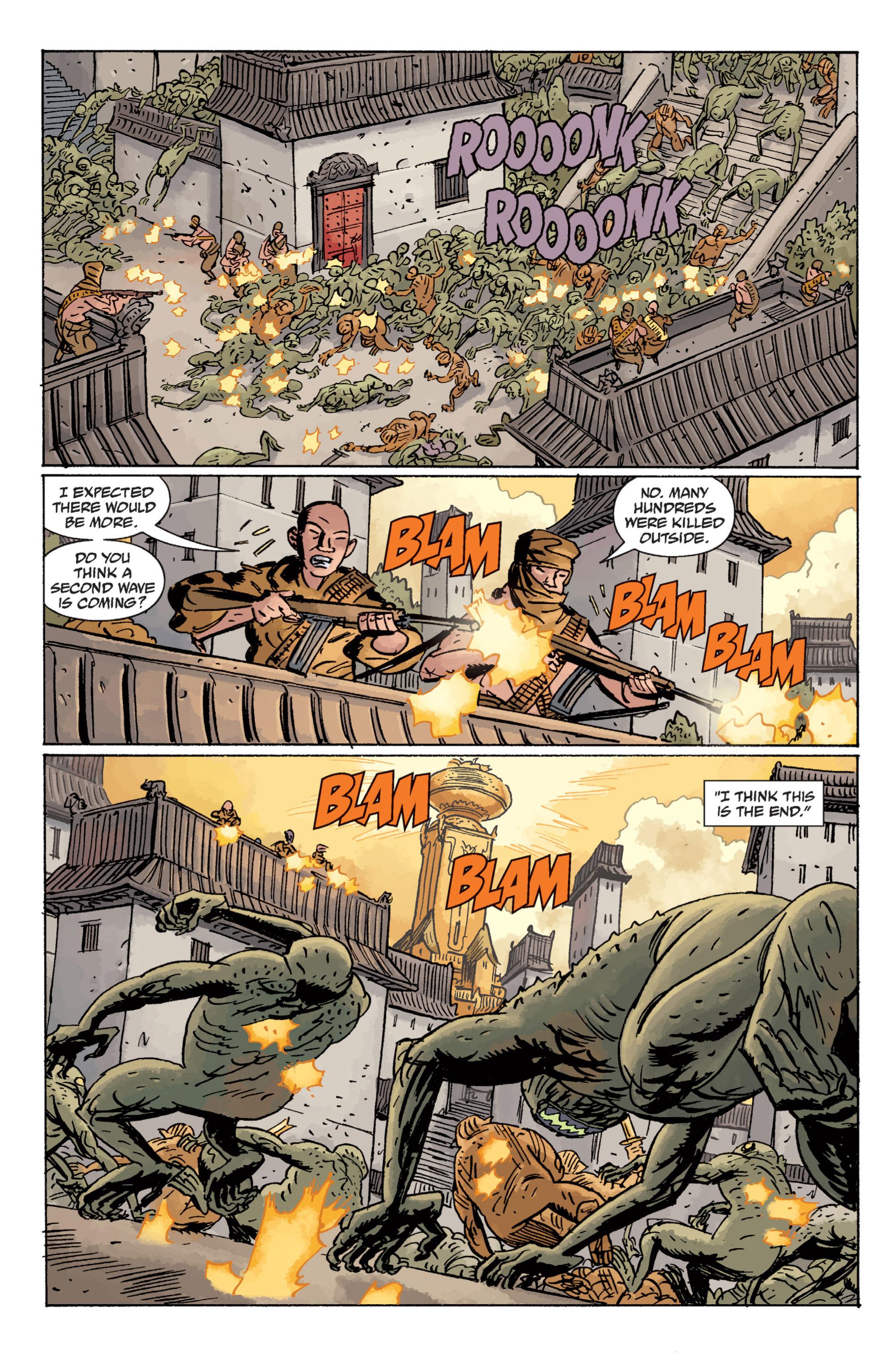 Read online B.P.R.D. (2003) comic -  Issue # TPB 11 - 113