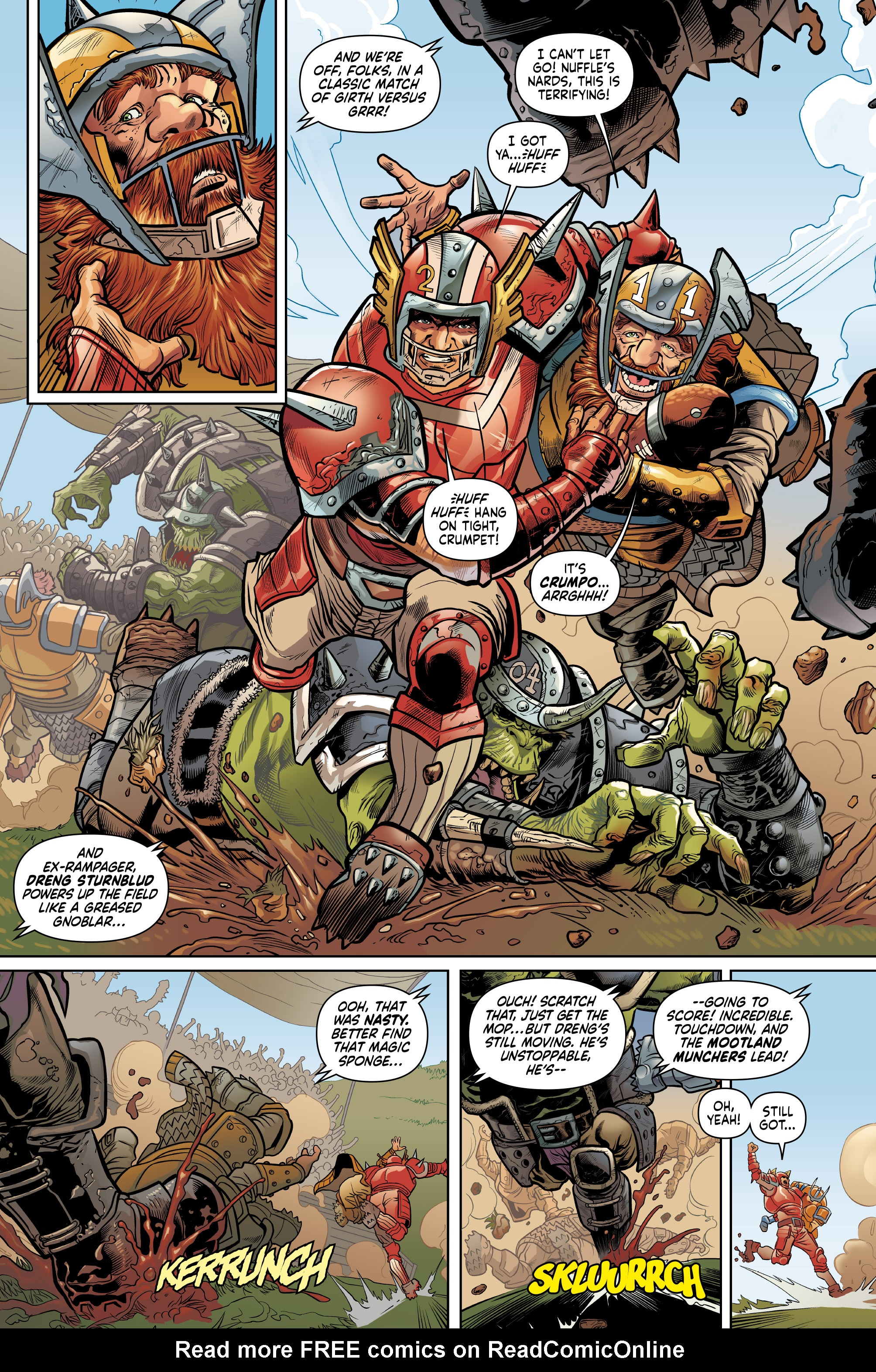 Read online Blood Bowl: More Guts, More Glory! comic -  Issue #1 - 15
