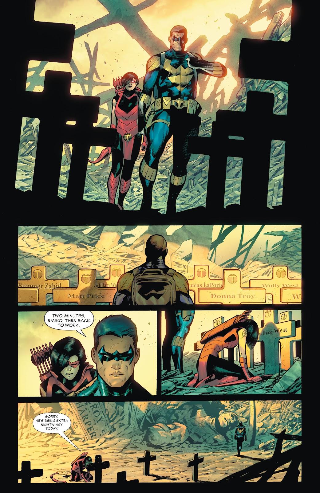 Nightwing | Future State (Teen Titans) Minecraft Skin