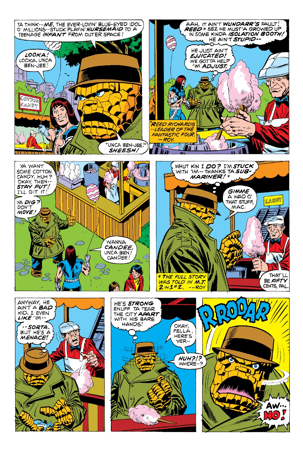 Read online Marvel Two-In-One Epic Collection: Cry Monster comic -  Issue # TPB (Part 2) - 7