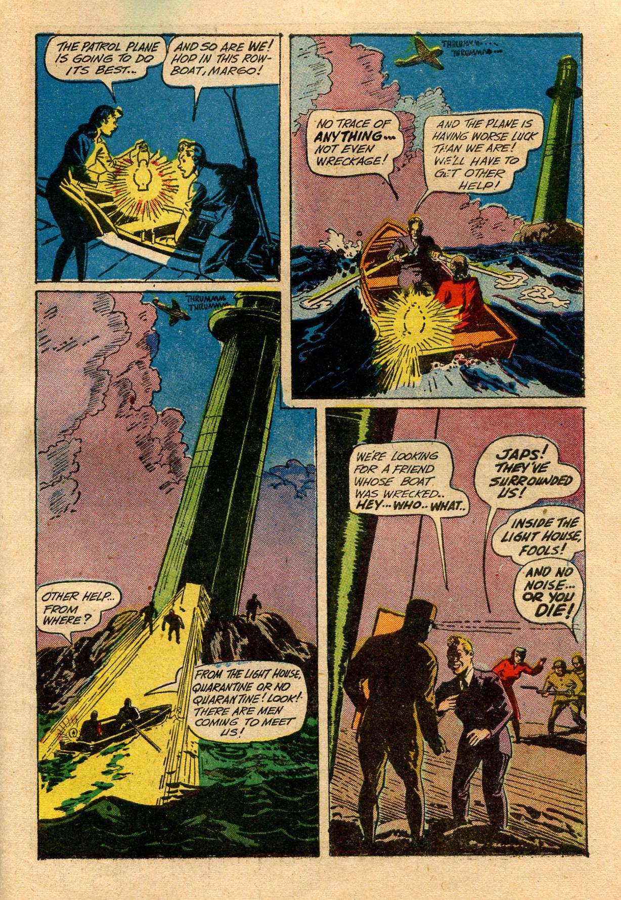 Read online Shadow Comics comic -  Issue #33 - 55