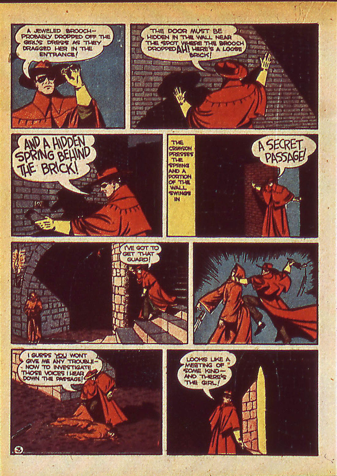 Read online Detective Comics (1937) comic -  Issue #42 - 34