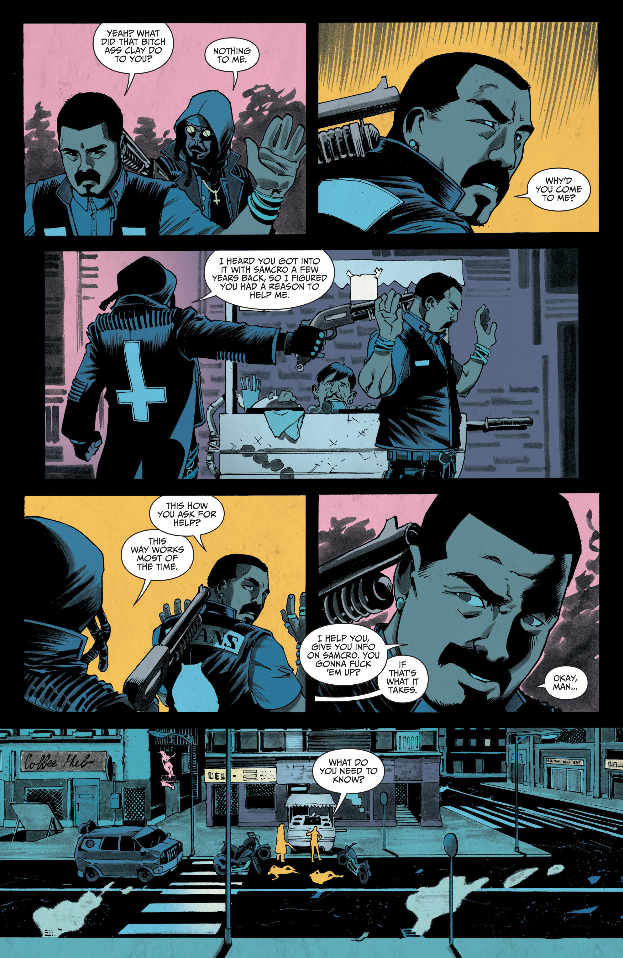 Read online Sons of Anarchy: Redwood Original comic -  Issue #4 - 4