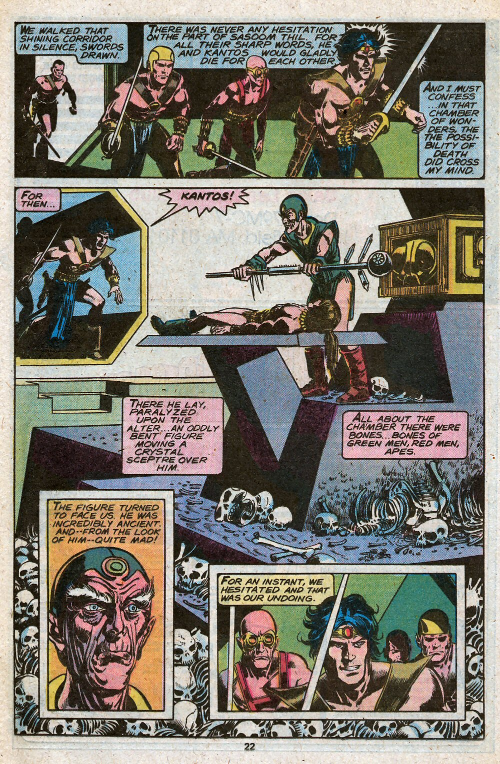 John Carter Warlord of Mars issue 28 - Page 24
