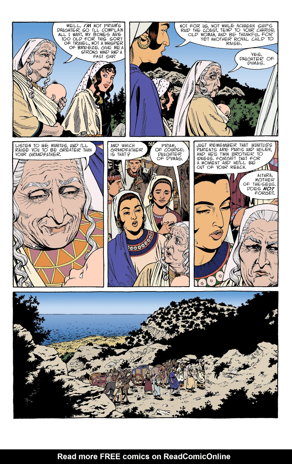 Read online Age of Bronze comic -  Issue #34 - 7
