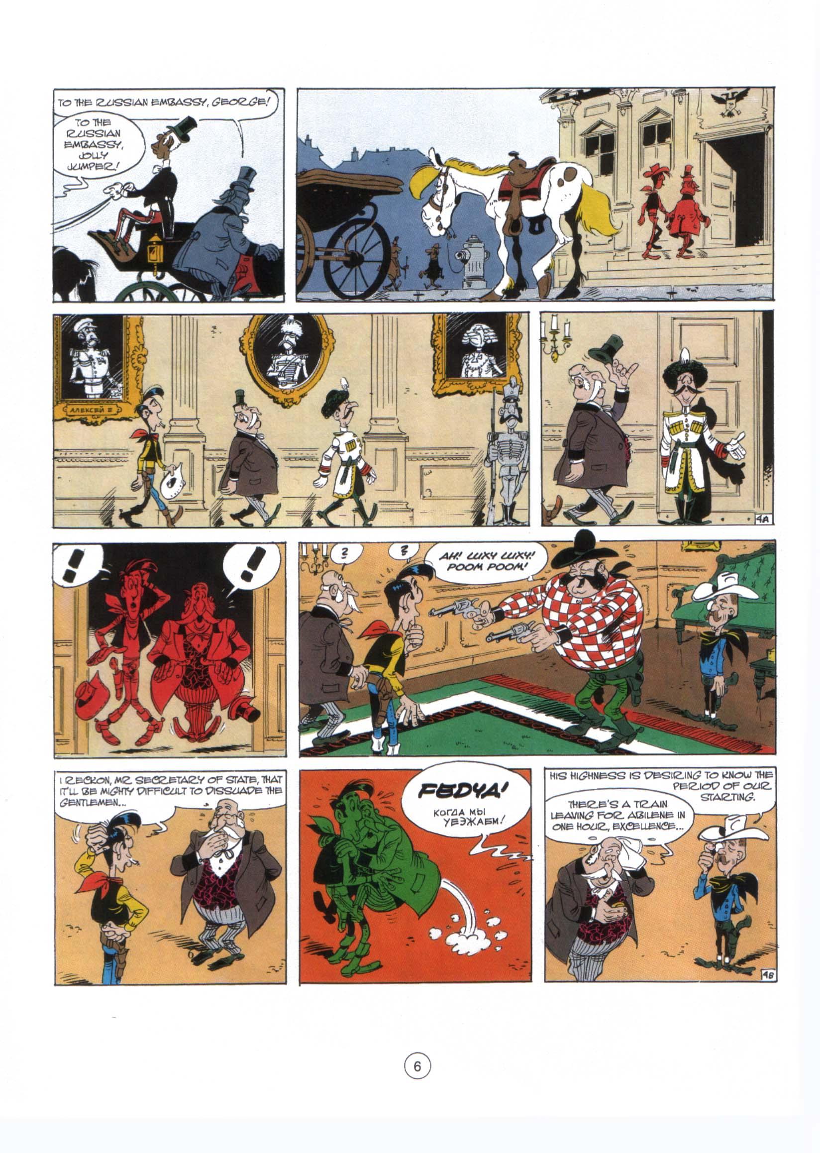 Read online A Lucky Luke Adventure comic -  Issue #29 - 5