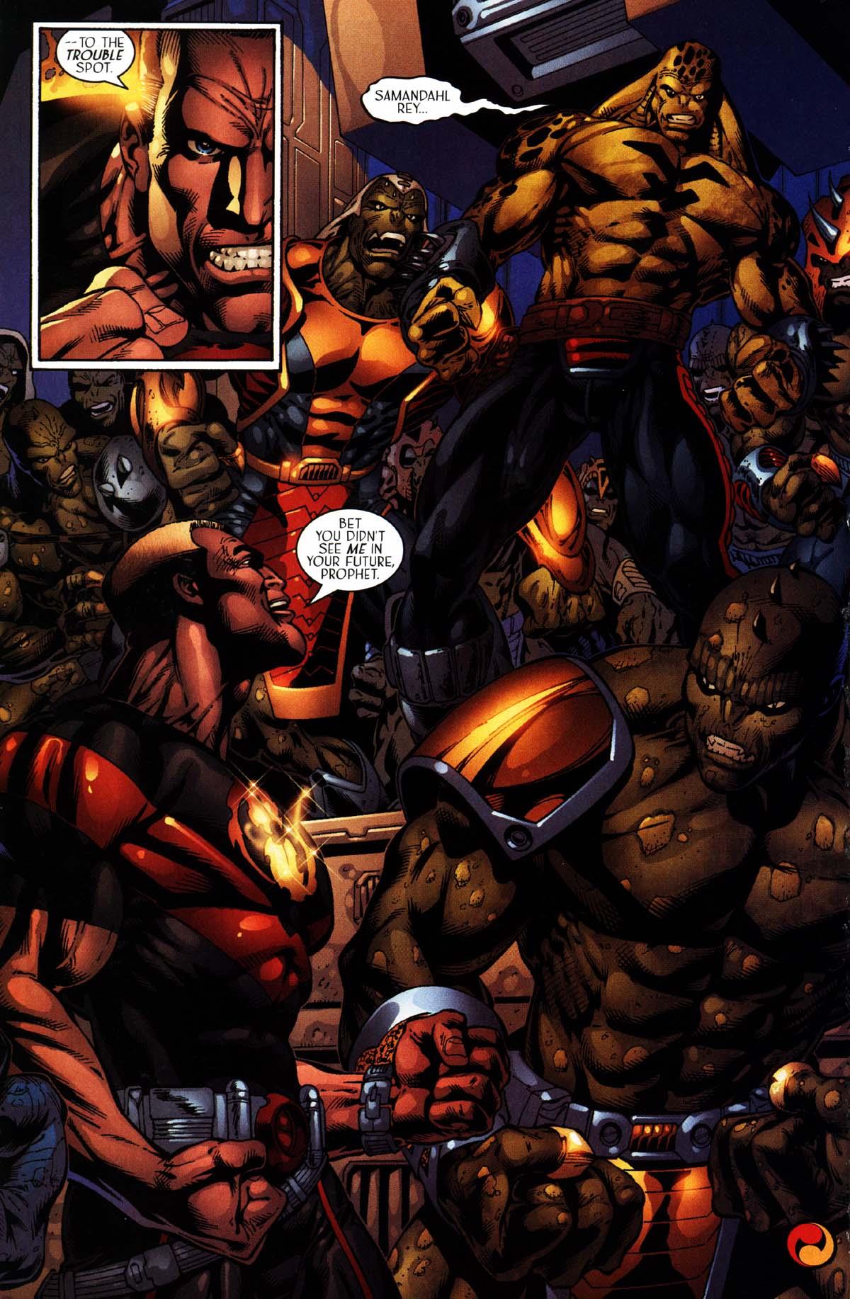 Read online Sigil (2000) comic -  Issue #27 - 28