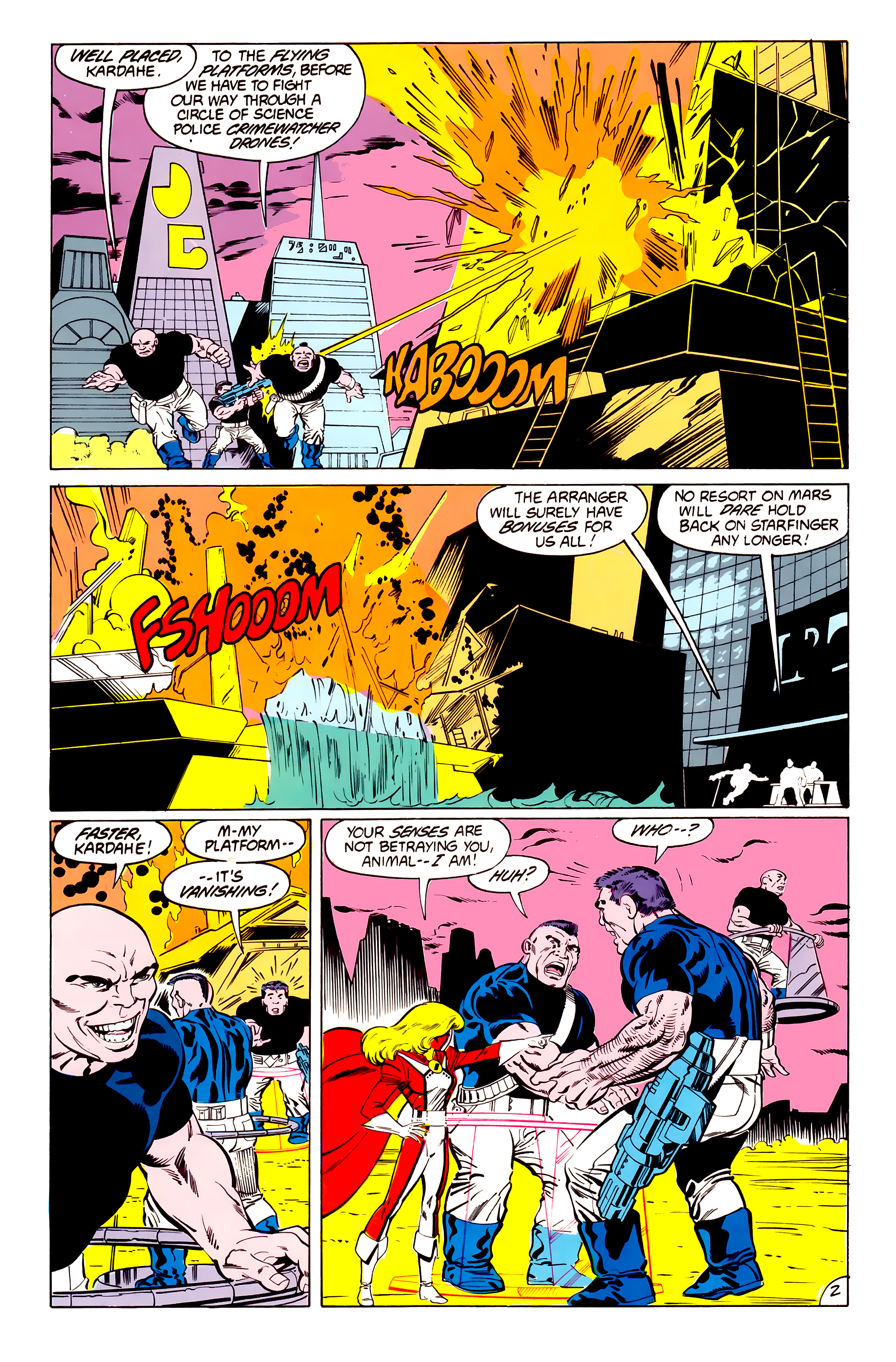 Legion of Super-Heroes (1984) 41 Page 2
