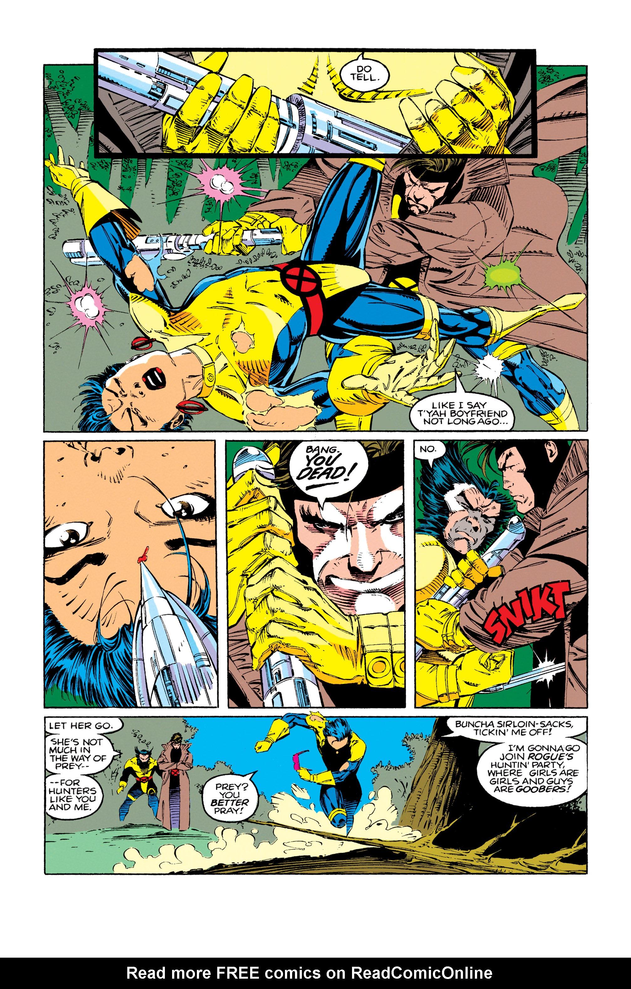 Read online Uncanny X-Men (1963) comic -  Issue #279 - 15