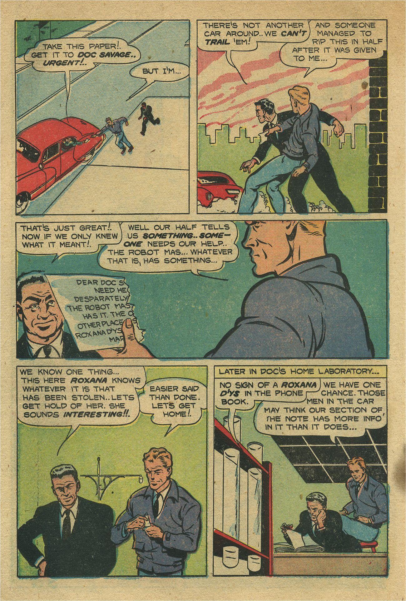 Read online Shadow Comics comic -  Issue #93 - 23