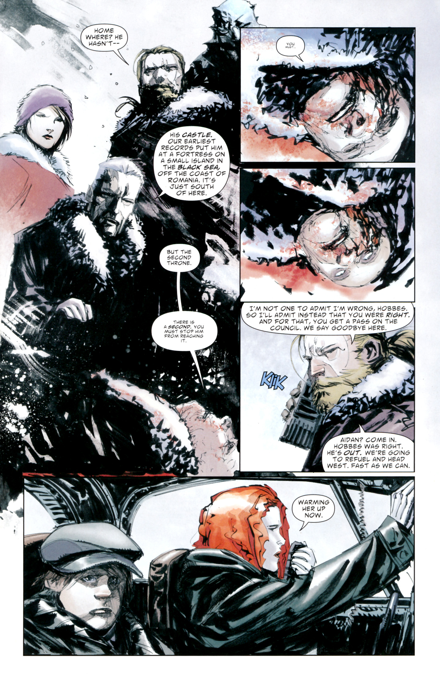 Read online American Vampire: Lord of Nightmares comic -  Issue #4 - 21