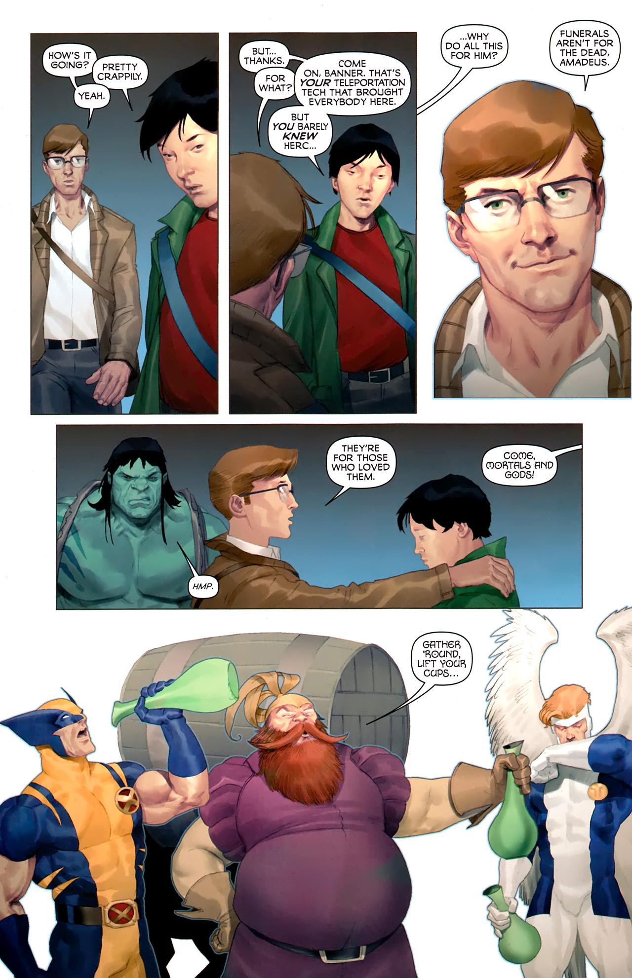 Read online Hercules: Fall of an Avenger comic -  Issue #1 - 7