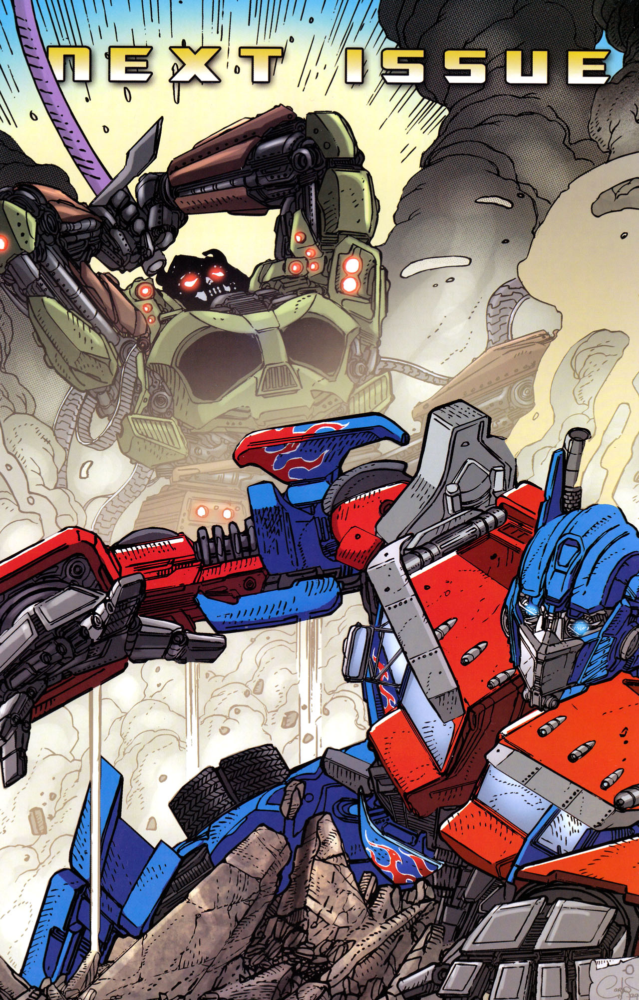 Read online Transformers: Dark of the Moon Rising Storm comic -  Issue #3 - 24