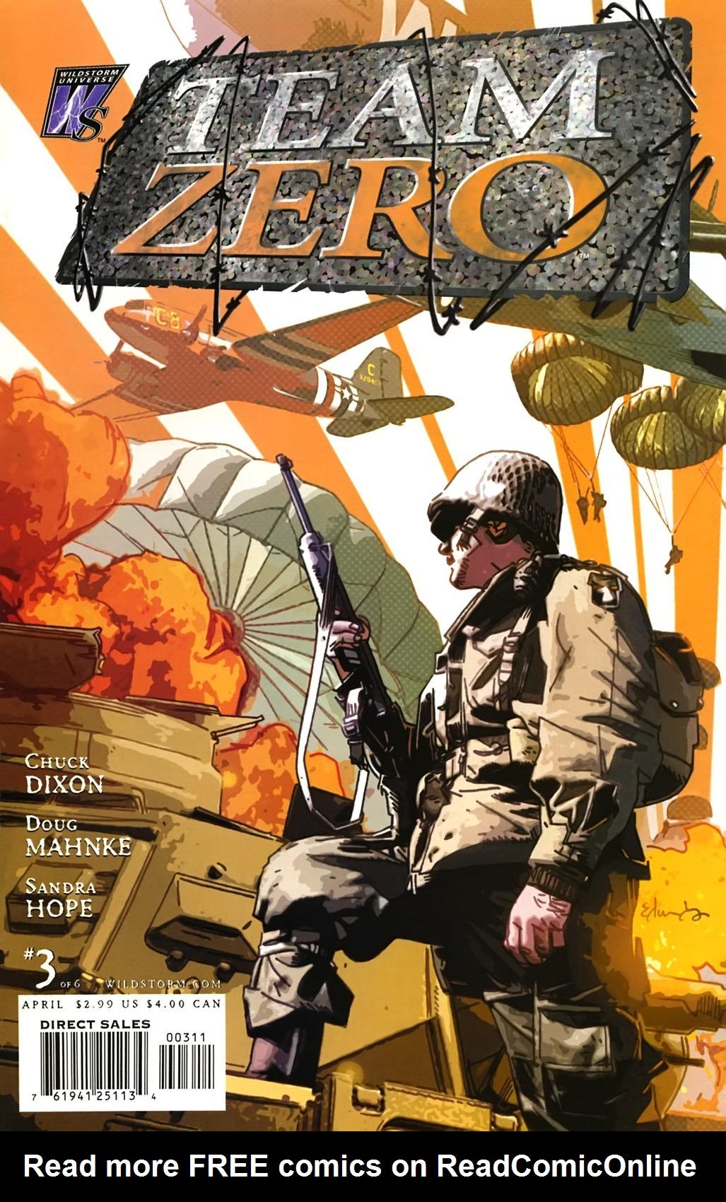 Read online Team Zero comic -  Issue #3 - 1