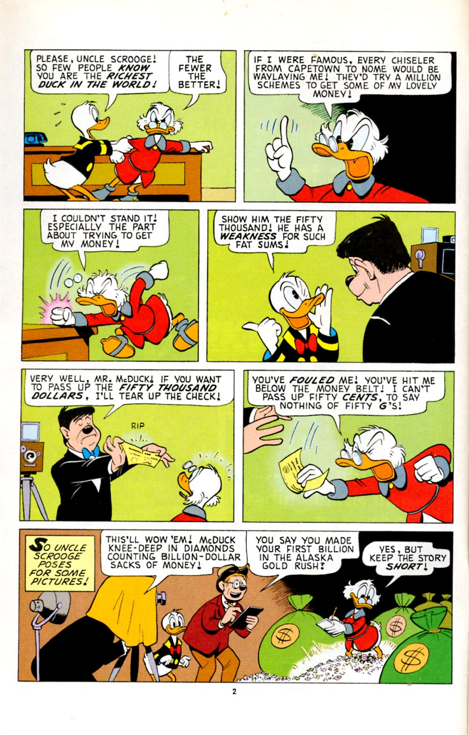 Read online Uncle Scrooge (1953) comic -  Issue #278 - 3