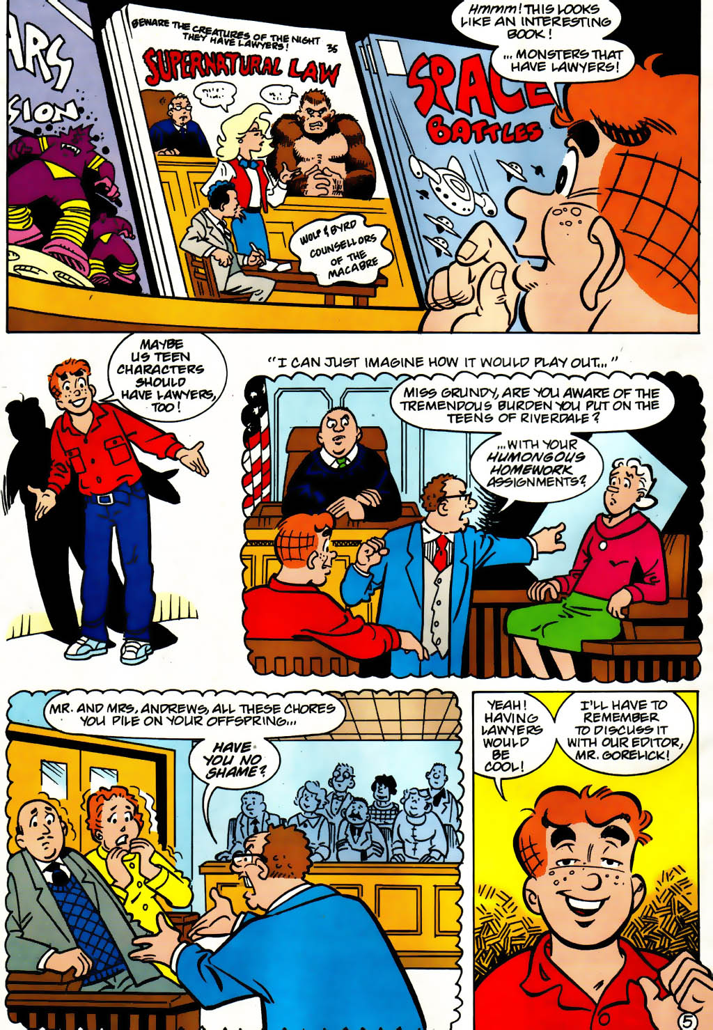 Read online Archie (1960) comic -  Issue #561 - 6