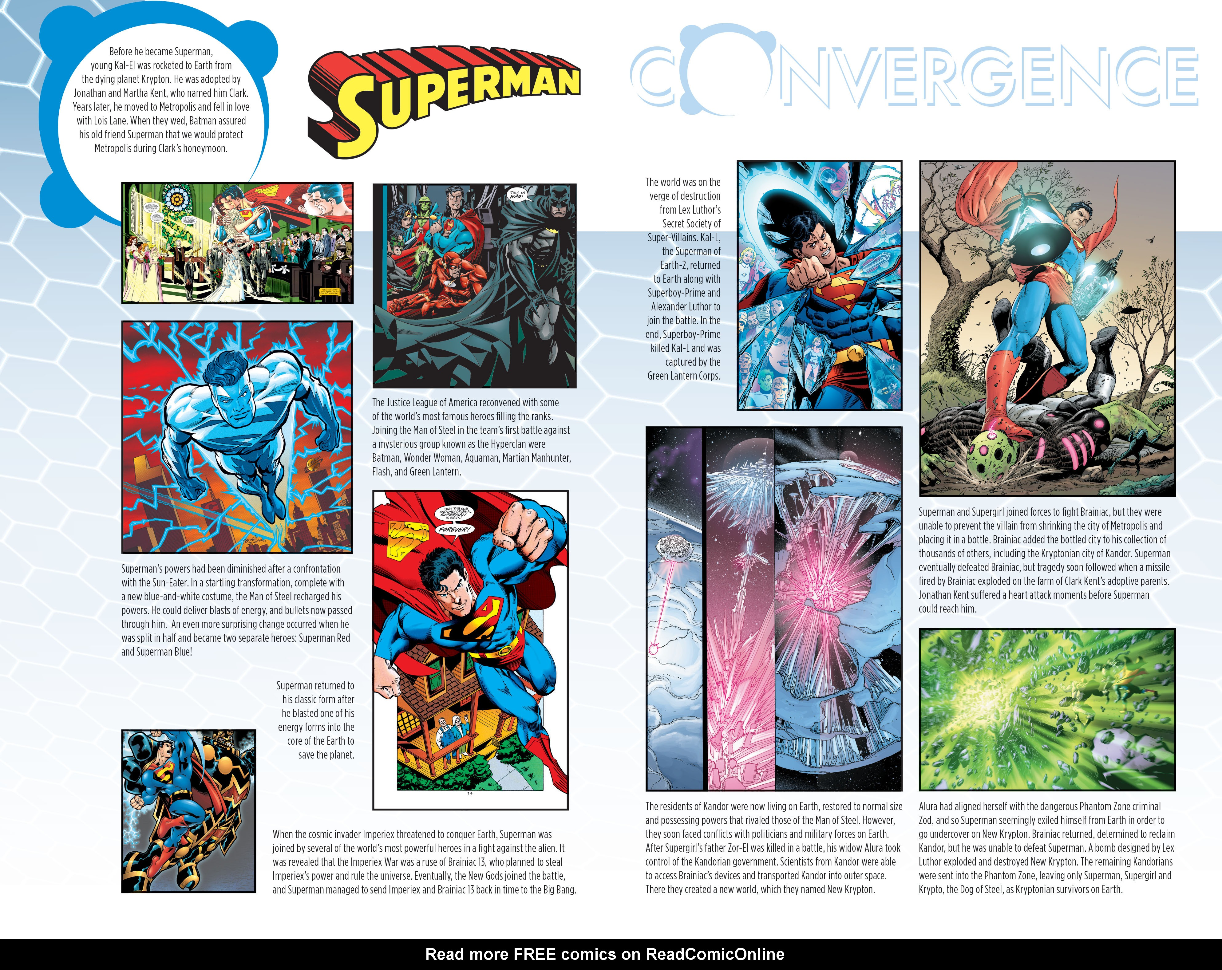 Read online Convergence Superman comic -  Issue #1 - 25