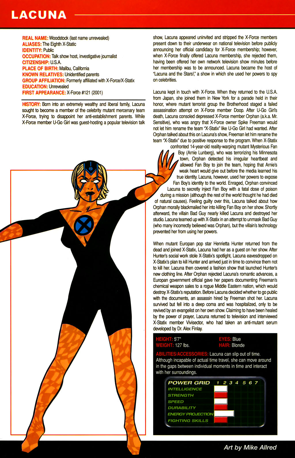 Read online All-New Official Handbook of the Marvel Universe A to Z comic -  Issue #6 - 26