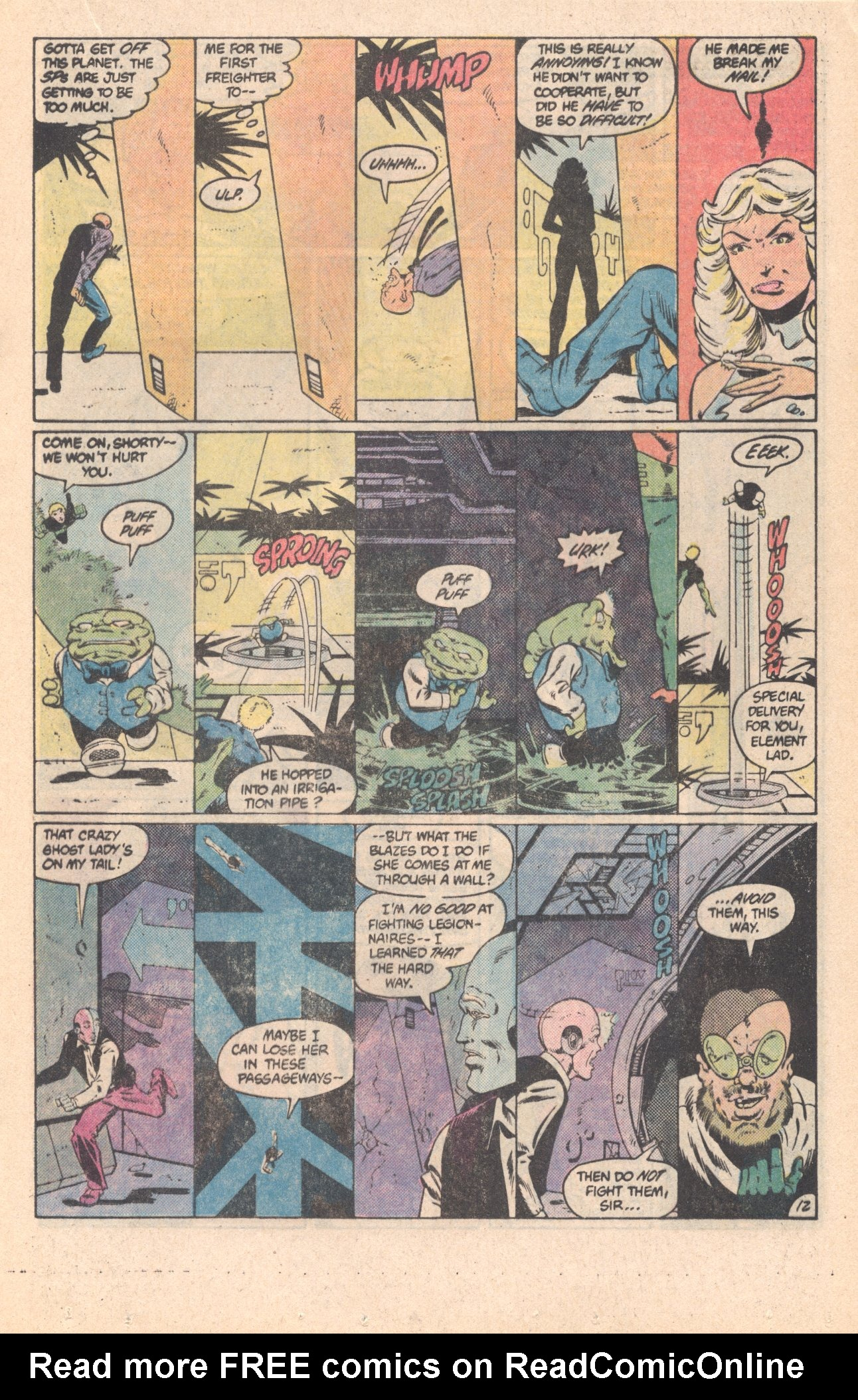 Legion of Super-Heroes (1980) 296 Page 12