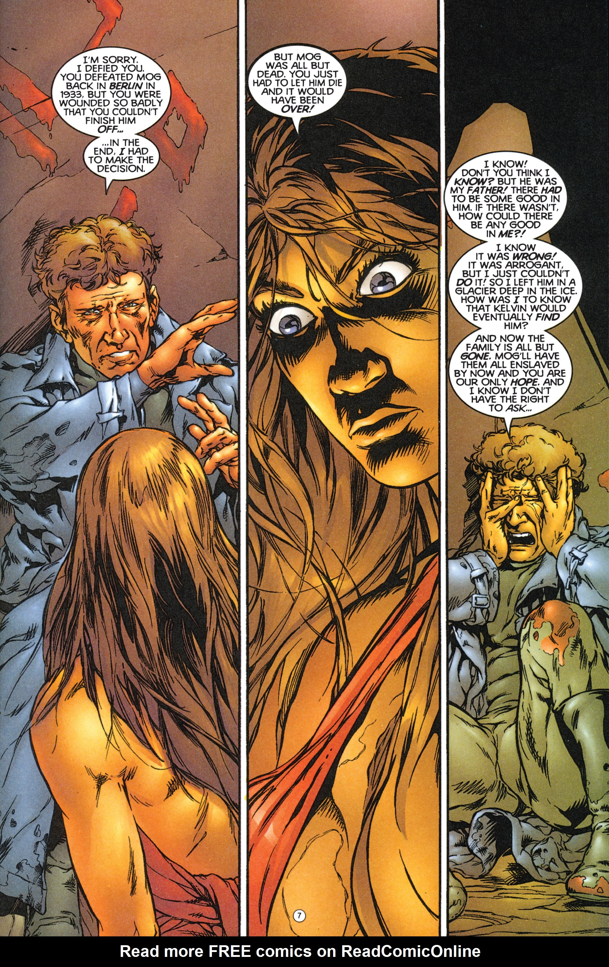 Read online Eternal Warriors comic -  Issue # Issue The Immortal Enemy - 8